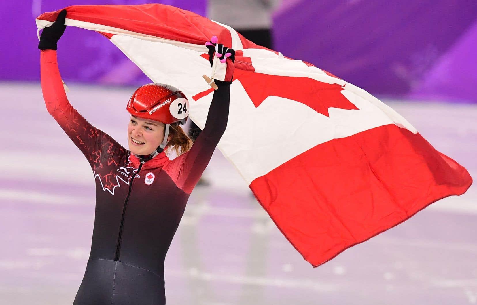 Kim Boutin, aux Jeux olympiques d'hiver de 2018