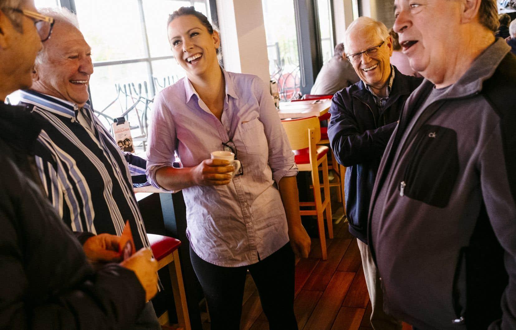 La candidate néodémocrate Ruth Ellen Brosseau (ci-dessus) et le bloquiste Yves Perron sont au coude à coude, selon les sondages.