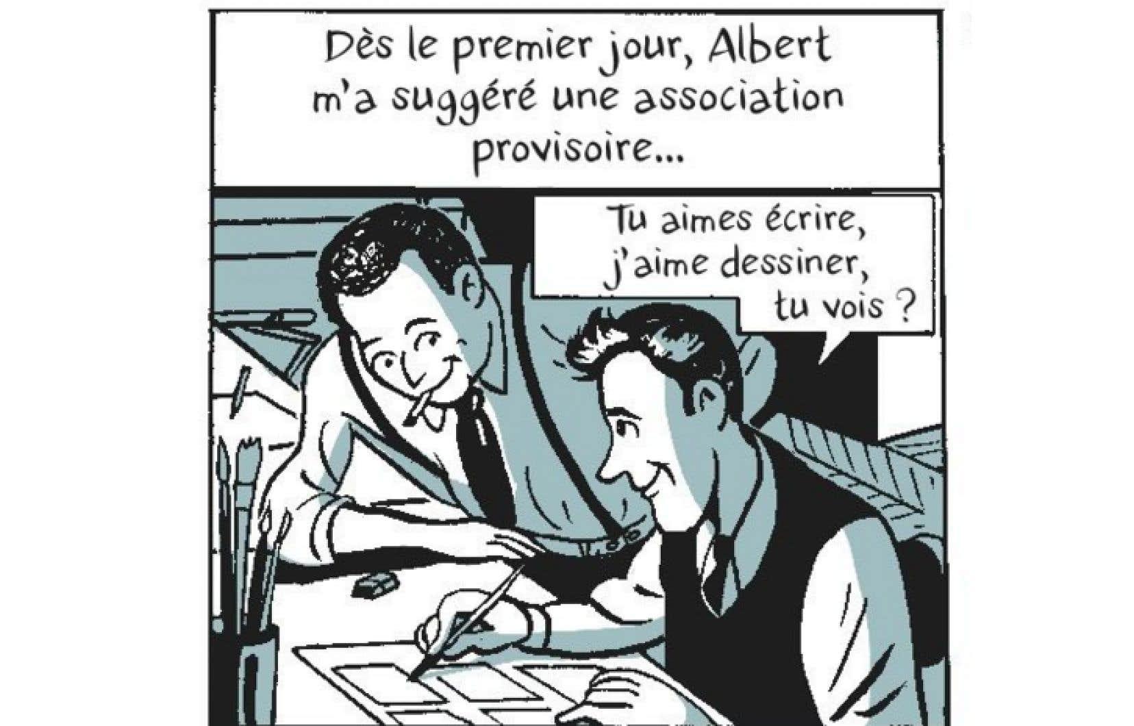 Case tirée de «Le roman des Goscinny»