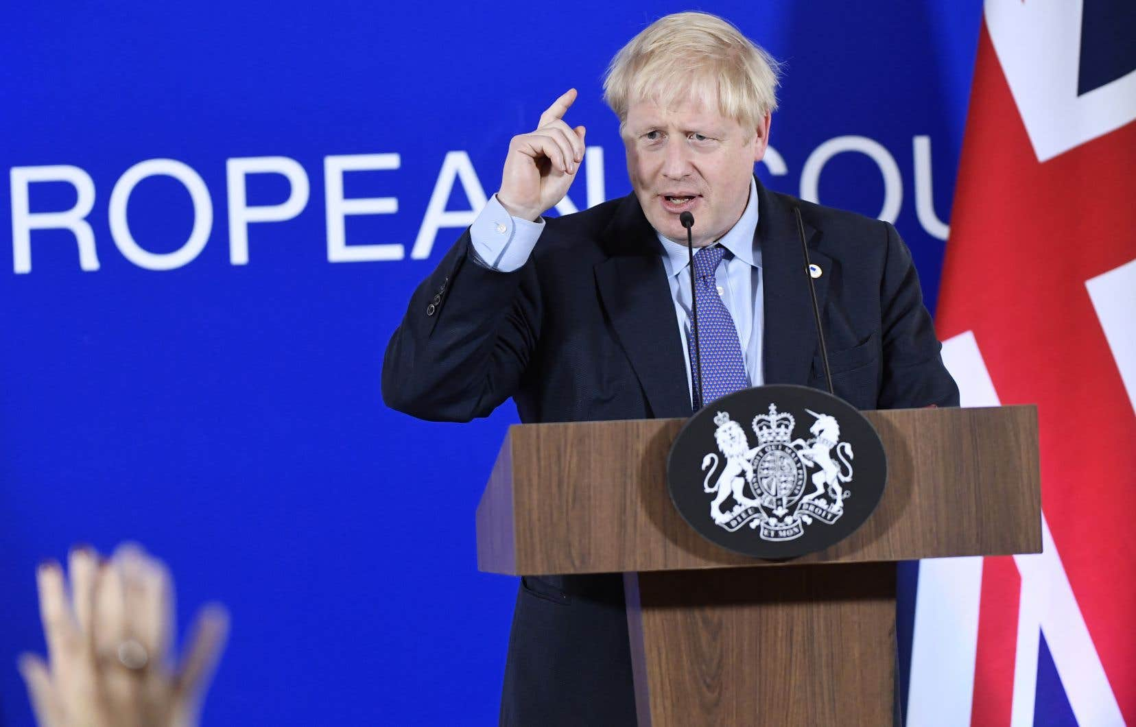 Le premier ministre britannique, Boris Johnson, a conclu une entente de divorce avec ses partenaires de l'Union européenne.