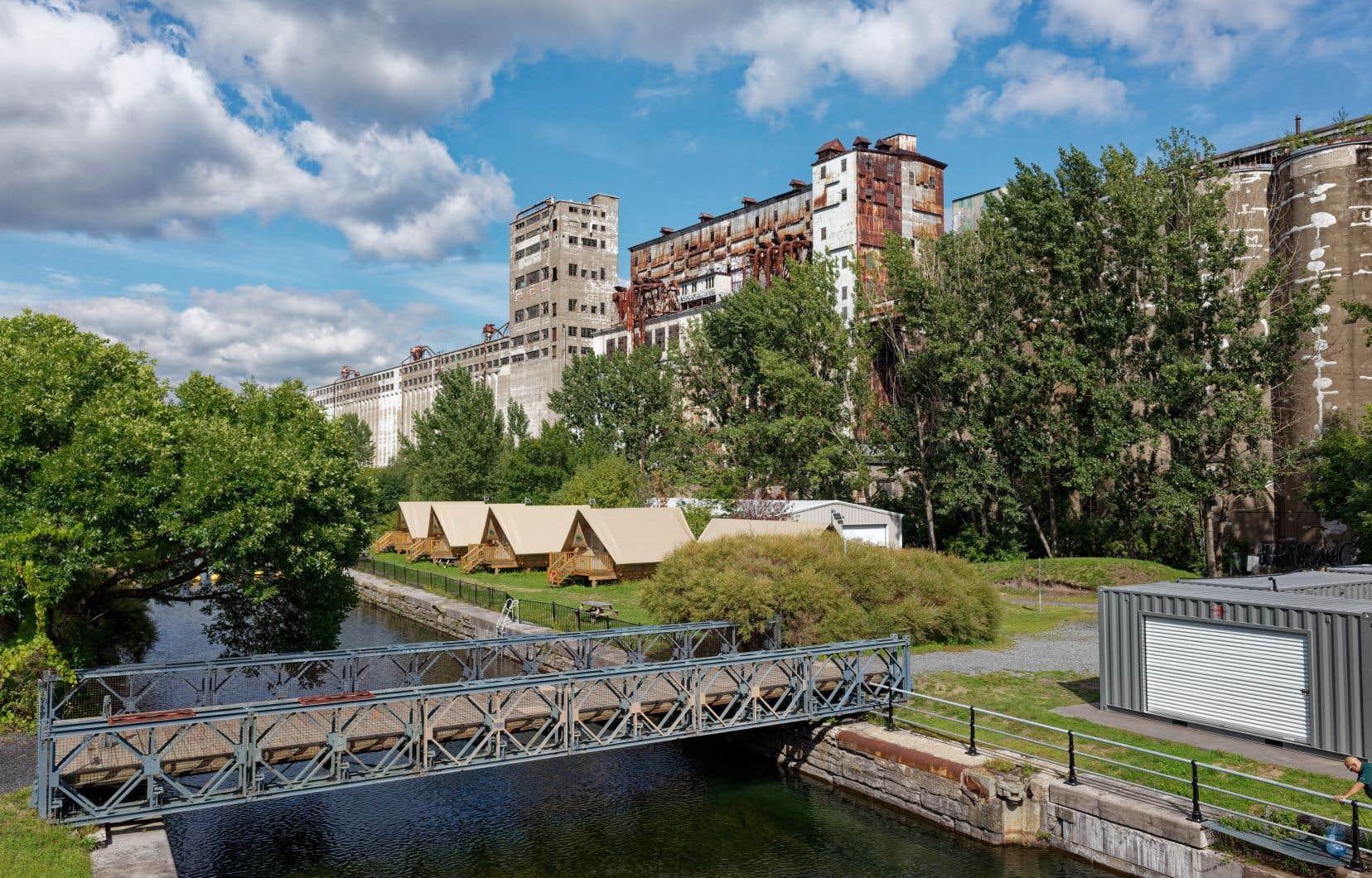 «Dans la région métropolitaine de Montréal, le gouvernement fédéral detient des sites et des bâtiments importants au plan du patrimoine, comme le Silo 5», rappellent les auteurs.