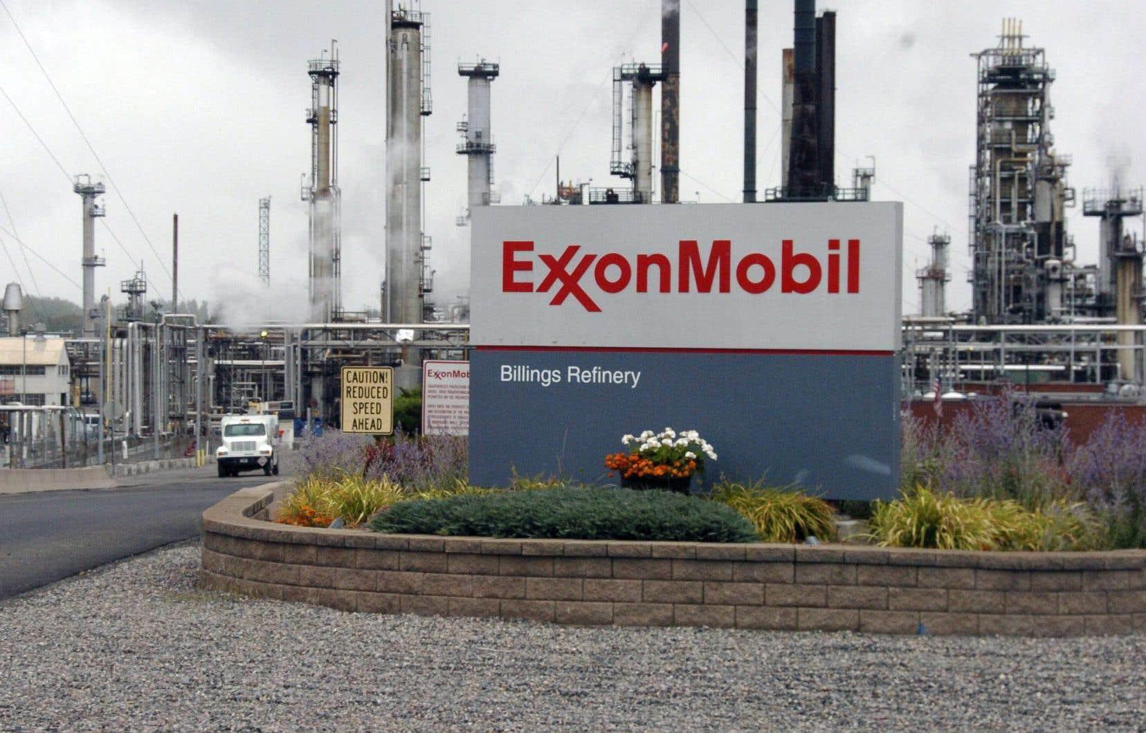 L'action ExxonMobil n'était pas touchée jeudi par l'annonce de ce procès.