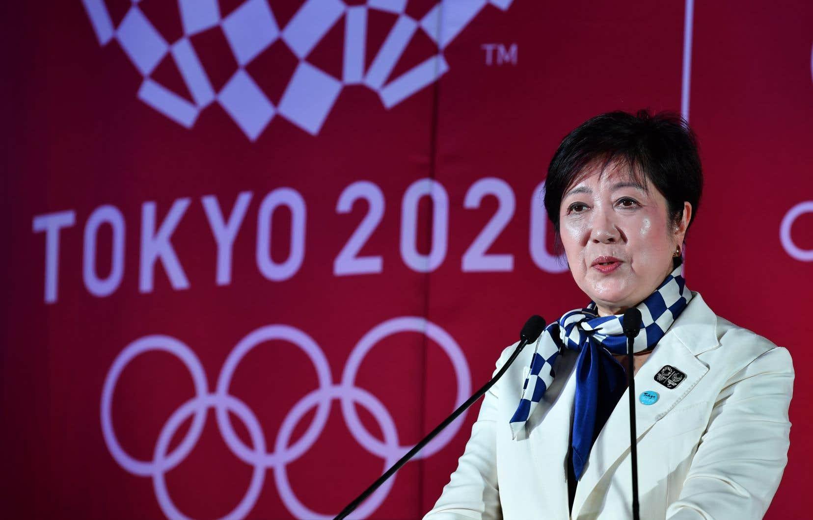 La gouverneure de Tokyo, Yuriko Koike