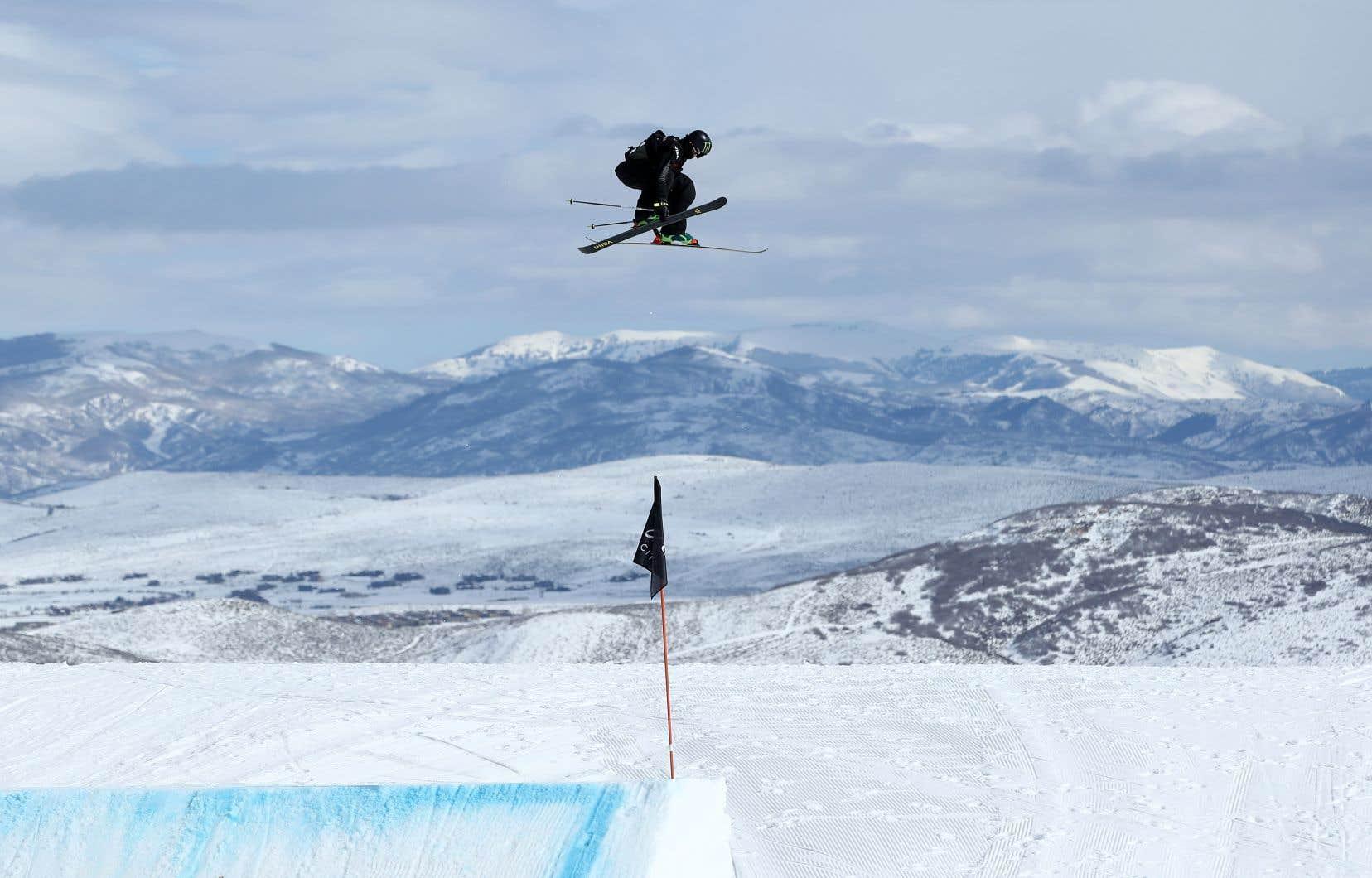 L'hiver dernier, Alex Beaulieu-Marchanda remporté la médaille de bronze en Big Air aux Championnats du monde de Deer Valley, en Utah.