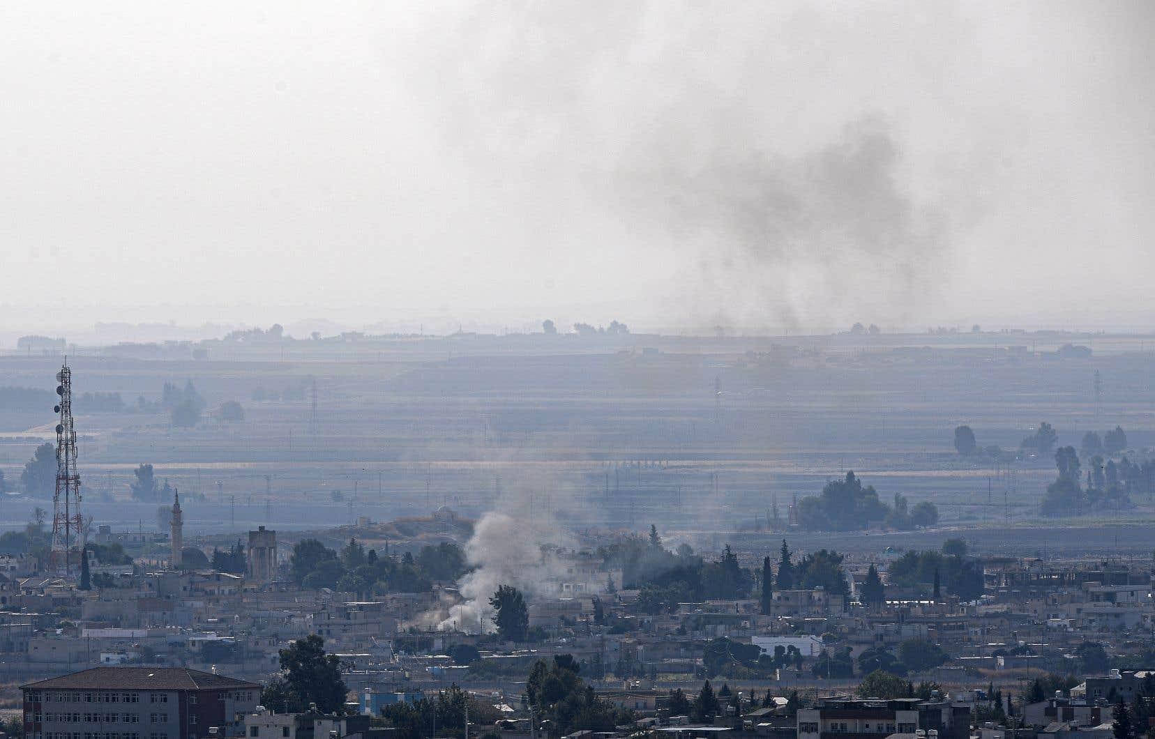<p>Ras al-Aïn a été conquise à moitié par les forces turques, d'après l'OSDH. Mais les FDS ont livré une résistance farouche.</p>