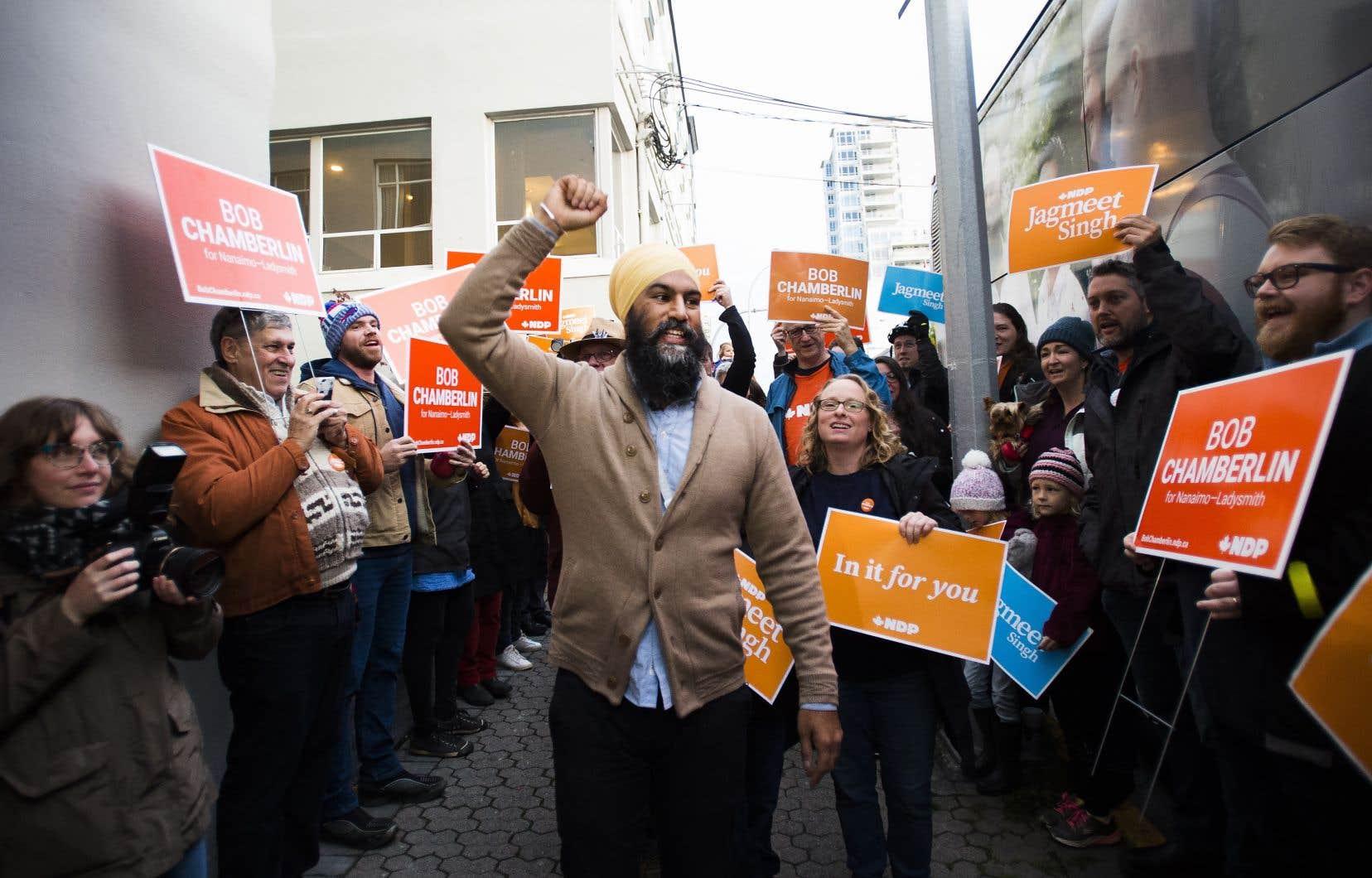De passage à Vancouver, où la question de l'accessibilité au logement est un enjeu important, Jagmeet Singh a dit que tout programme dans ce secteur doit été ambitieux en raison de la crise actuelle.