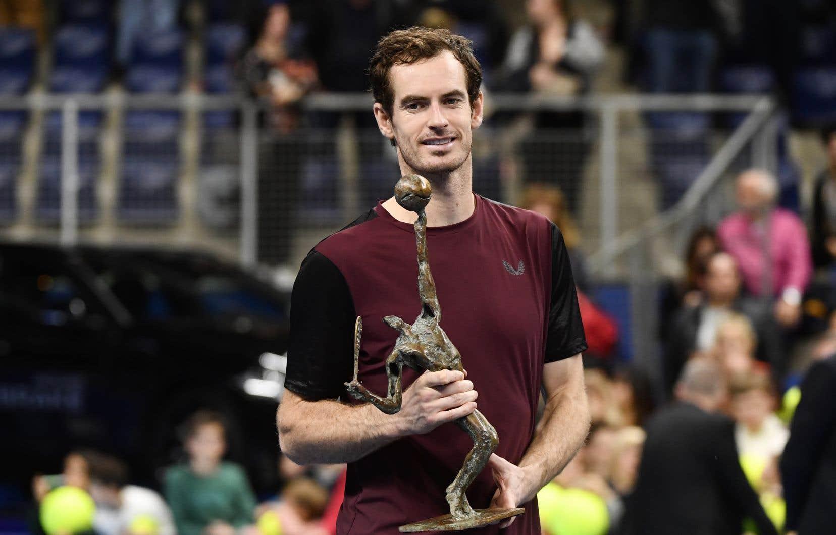 Andy Murray est de retour sur le circuit de l'ATP depuis 4 mois, après une nouvelle opération à la hanche en janvier.