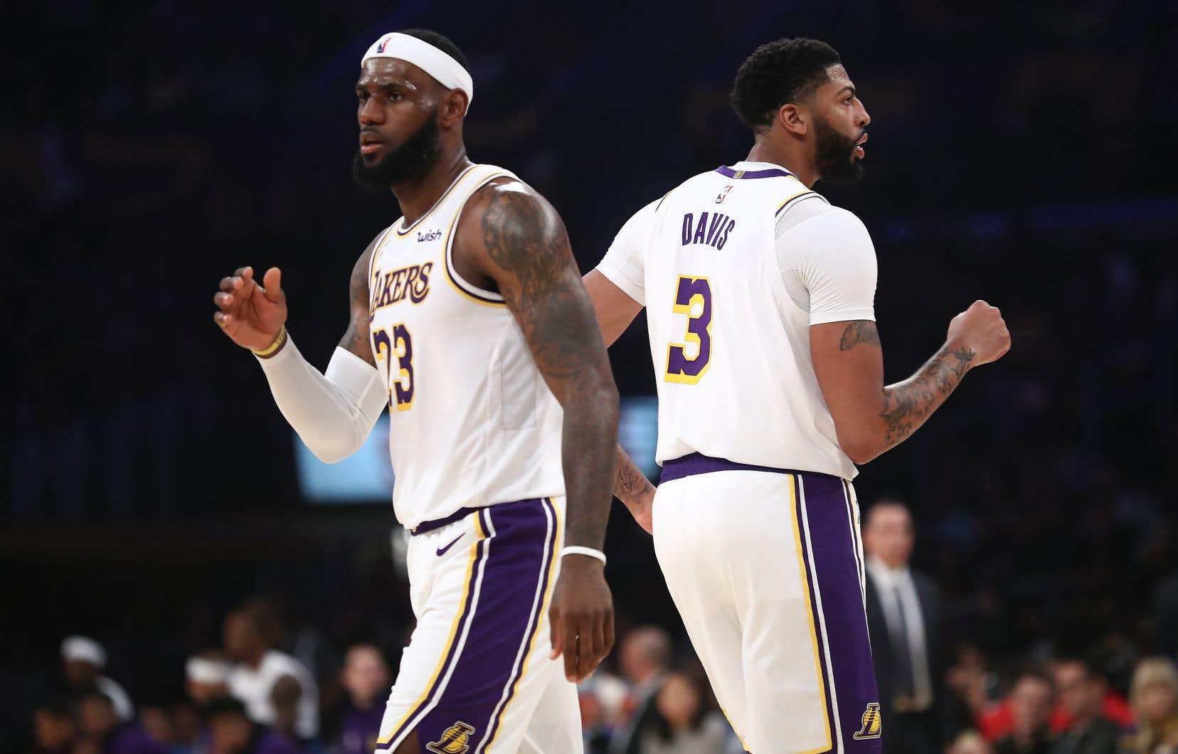Toute la planète NBA brûle de voir Kawhi Leonard et Paul George, arrivés en force chez les Clippers, défier LeBron James et Anthony Davis, recrue phare des Lakers (en photo).