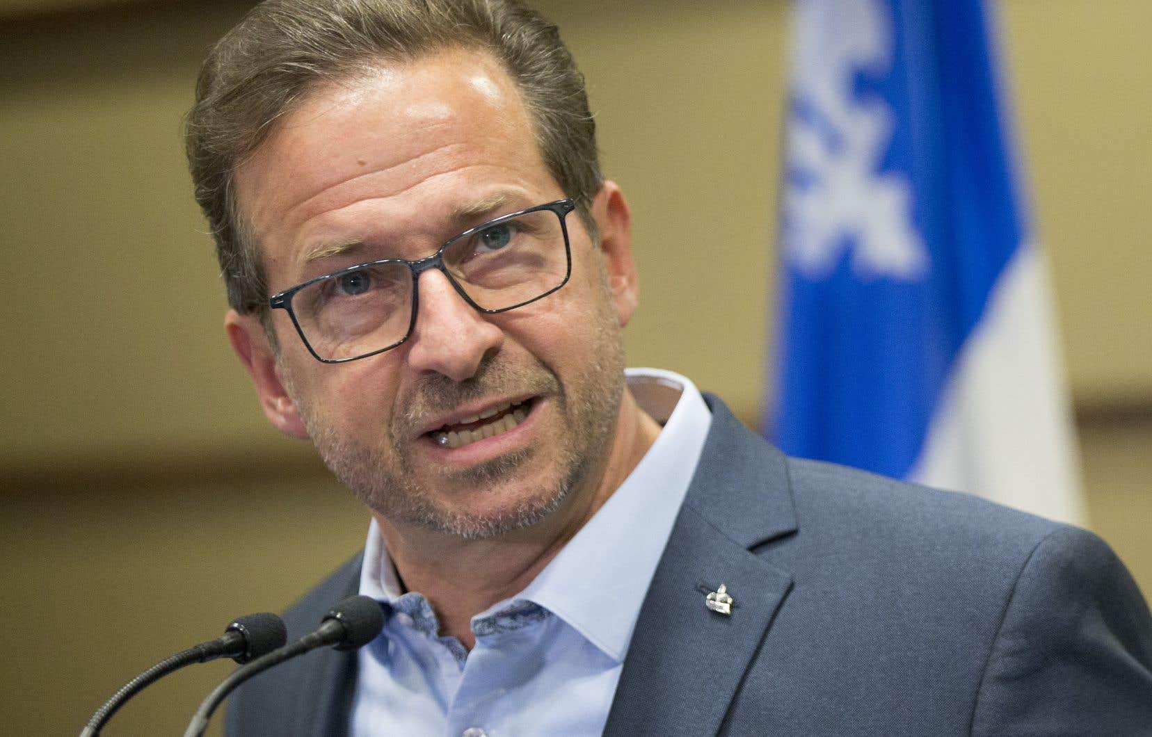 «Je ne suis pas dans les calculs stratégiques et tactiques», a affirmé le chef bloquiste Yves-François Blanchet.