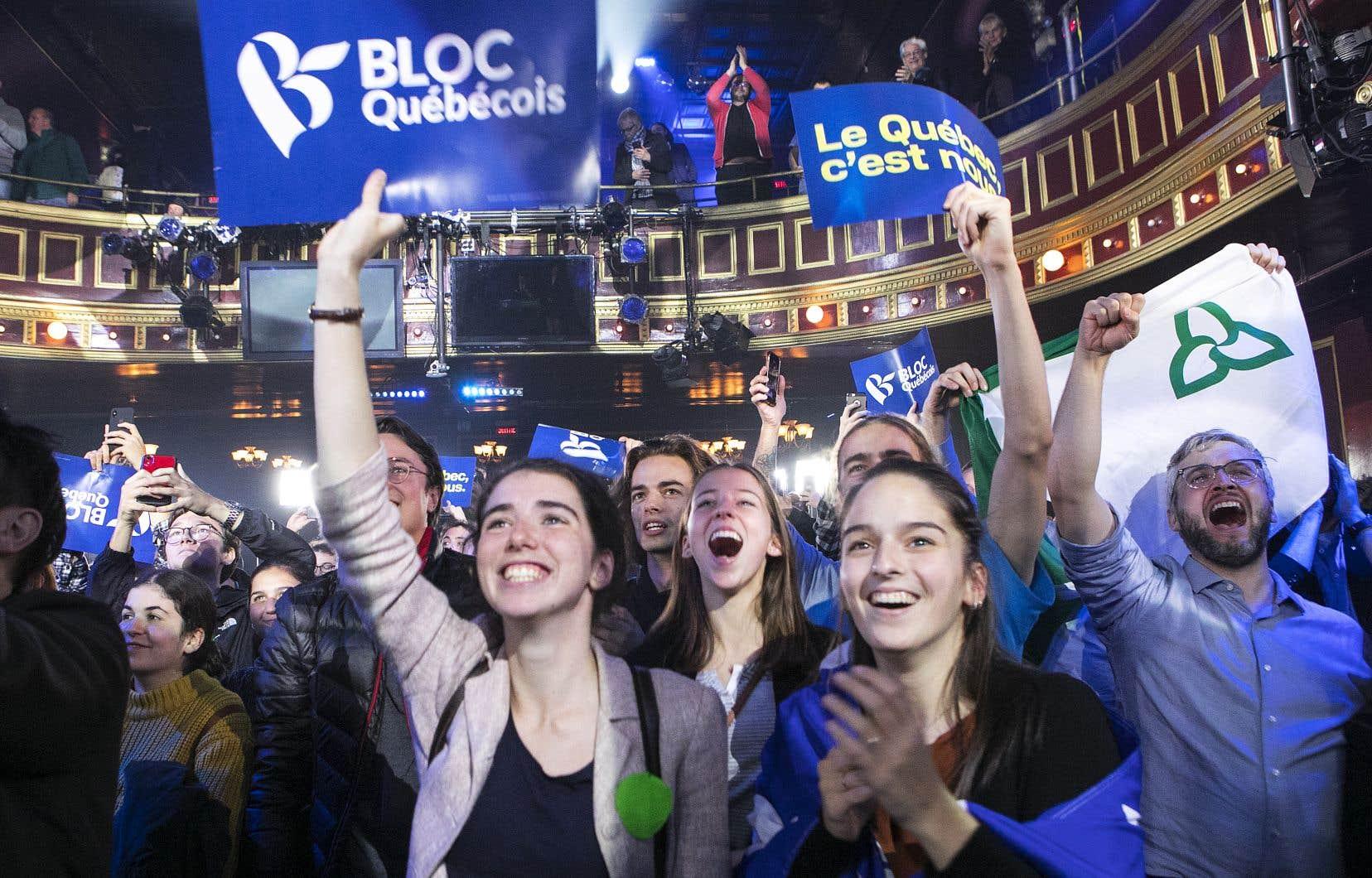 Les Québécois ont préféré appuyer un parti qui se consacre à la protection des intérêts du Québec.