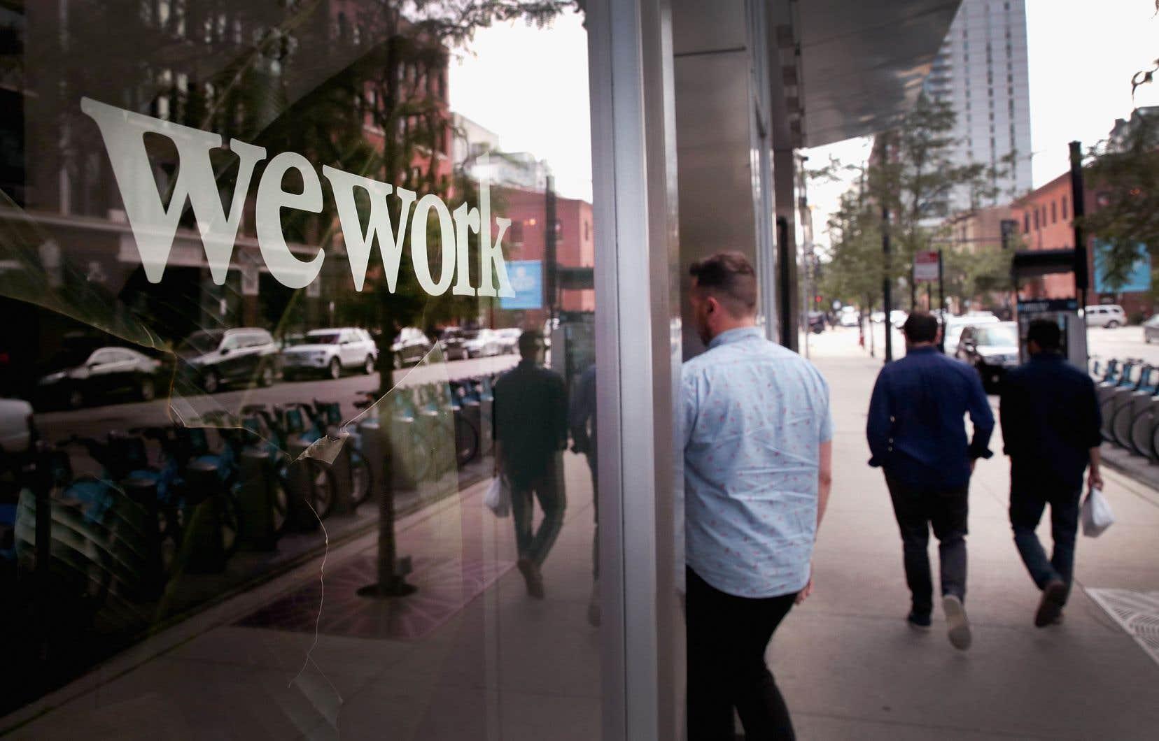 Le sauvetage de WeWork illustre la déchéance d'une entreprise qui a vu trop vite les choses en grand.