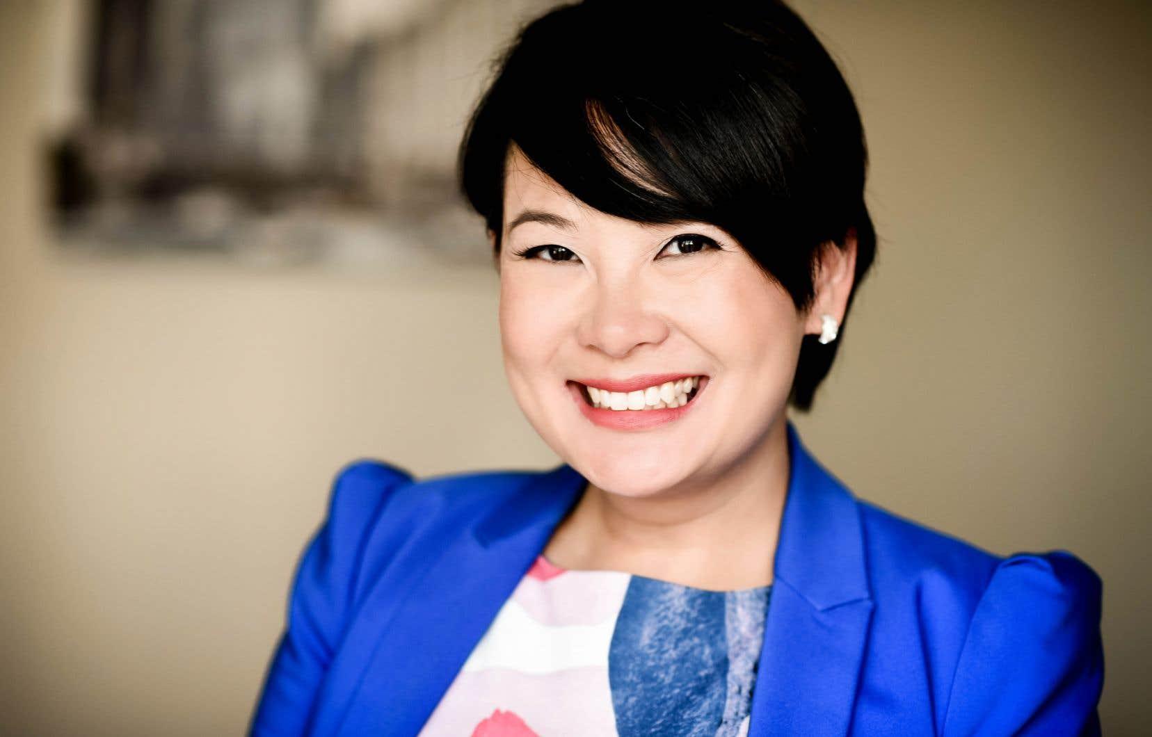 Selena Lu est aussi devenue l'an dernier  la première présidente de la Jeune chambre de commerce  de Montréal  issue d'une communauté culturelle.