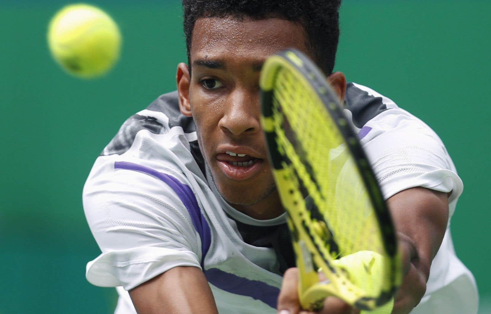 Félix Auger-Aliassime a déclaré forfait avant le début de son match de premier tour au tournoi de tennis de Vienne.