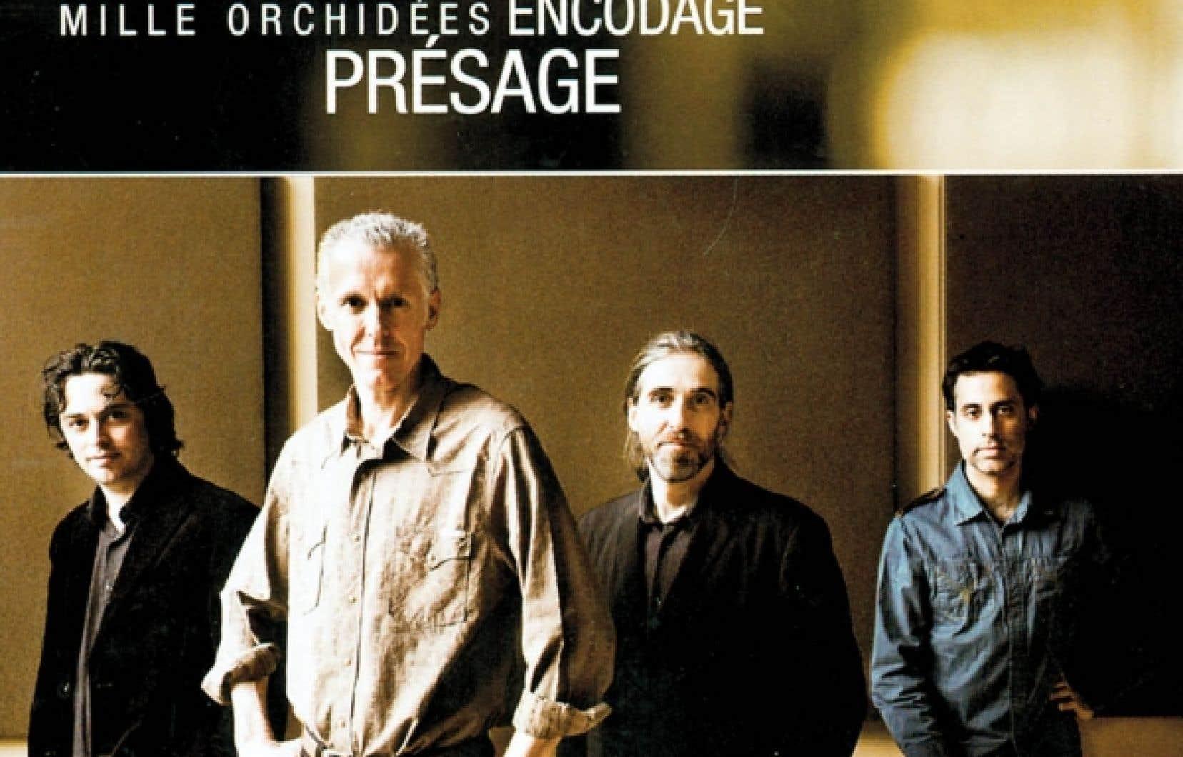 Yves L&eacute;veill&eacute; avec ses complices pour son disque Chor&eacute;graphie<br />