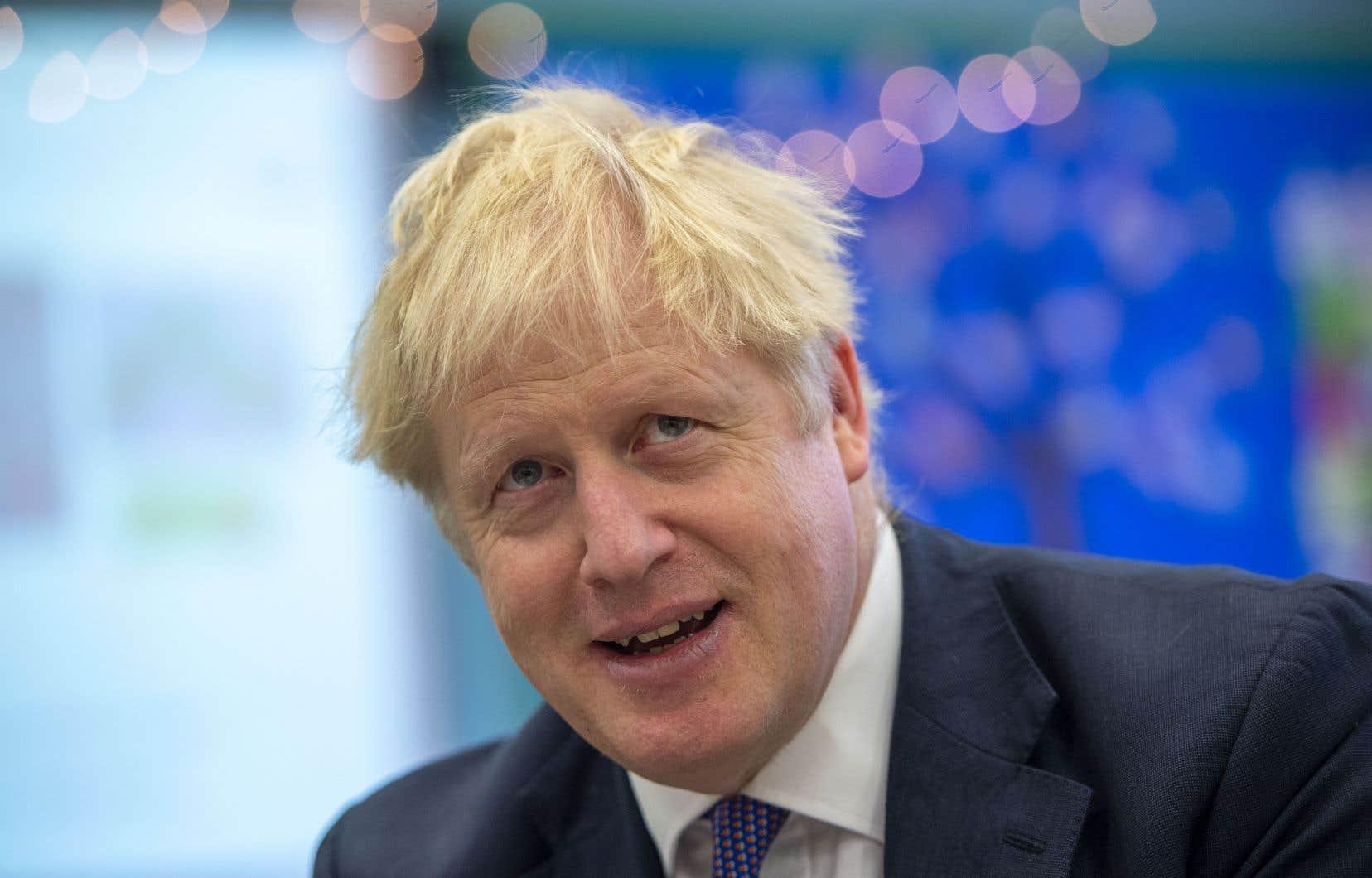 «Il est temps pour Jeremy Corbyn de se comporter comme un homme», a déclaré Boris Johnson sur Sky News.