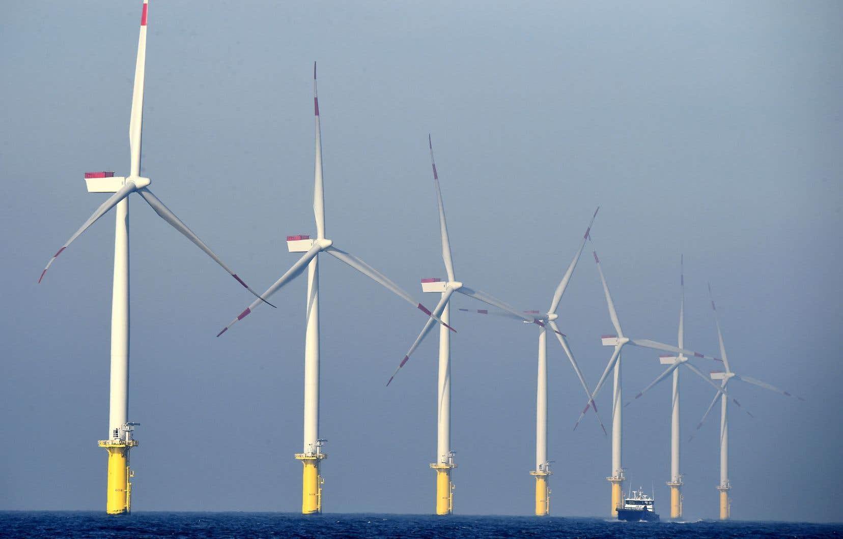 À l'heure actuelle, 80% de la capacité mondiale est située en Europe, mais l'AEI dénombre présentement 150 projets de parcs éoliens en mer dans 19 pays différents, notamment en Asie.