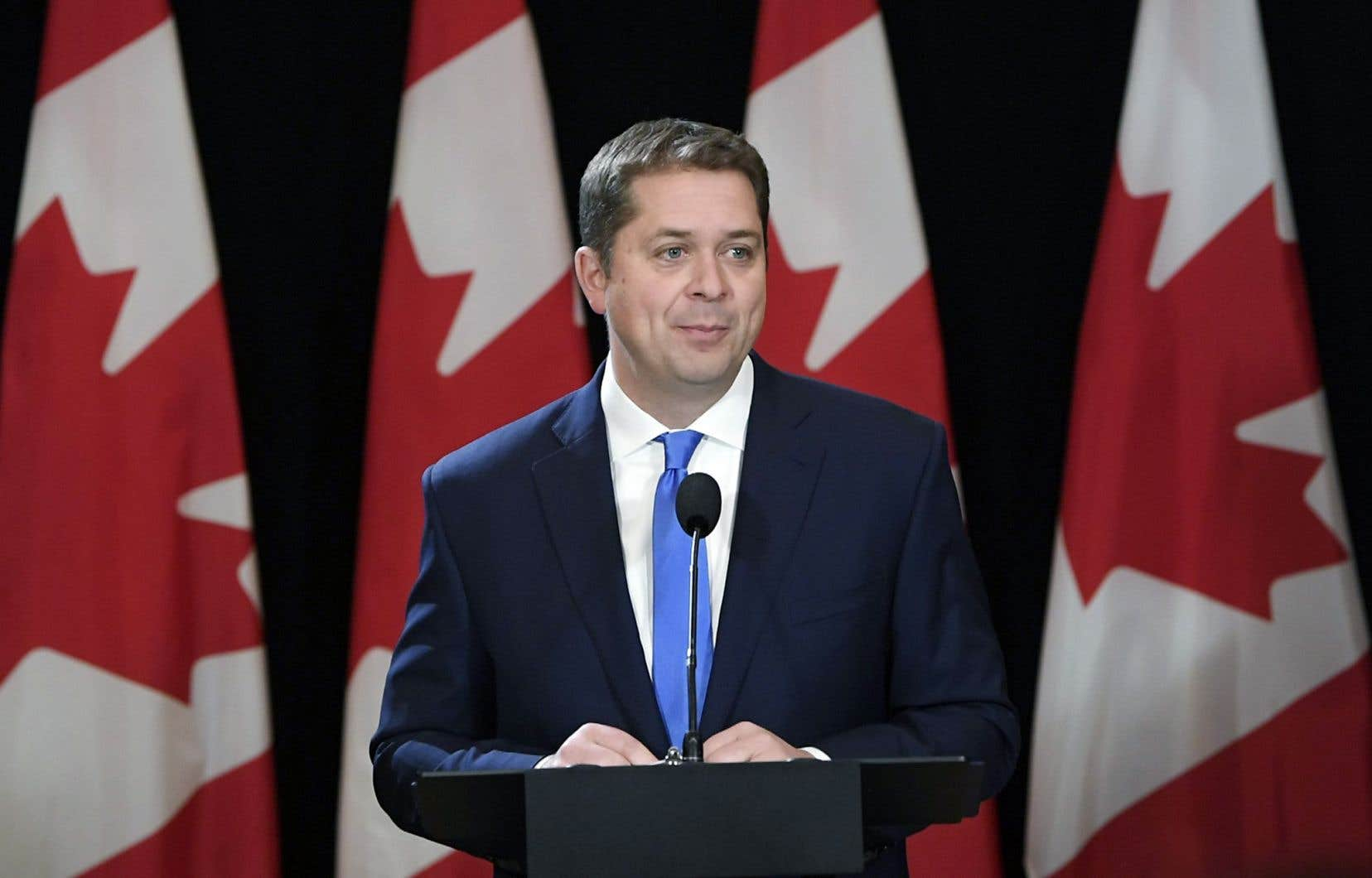 Andrew Scheer s'est toujours porté à la défense des provinces des Prairies et de leur industrie pétrolière.