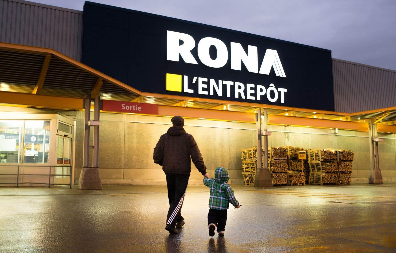 Les marchands indépendants affiliés au quincaillier Rona se sont sentis injustement visés par les propos du premier ministre.
