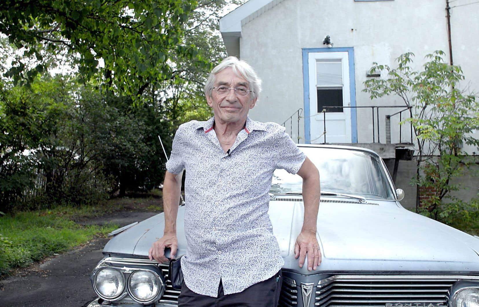 Le poète, chanteur, réalisateur et militant Richard Desjardins