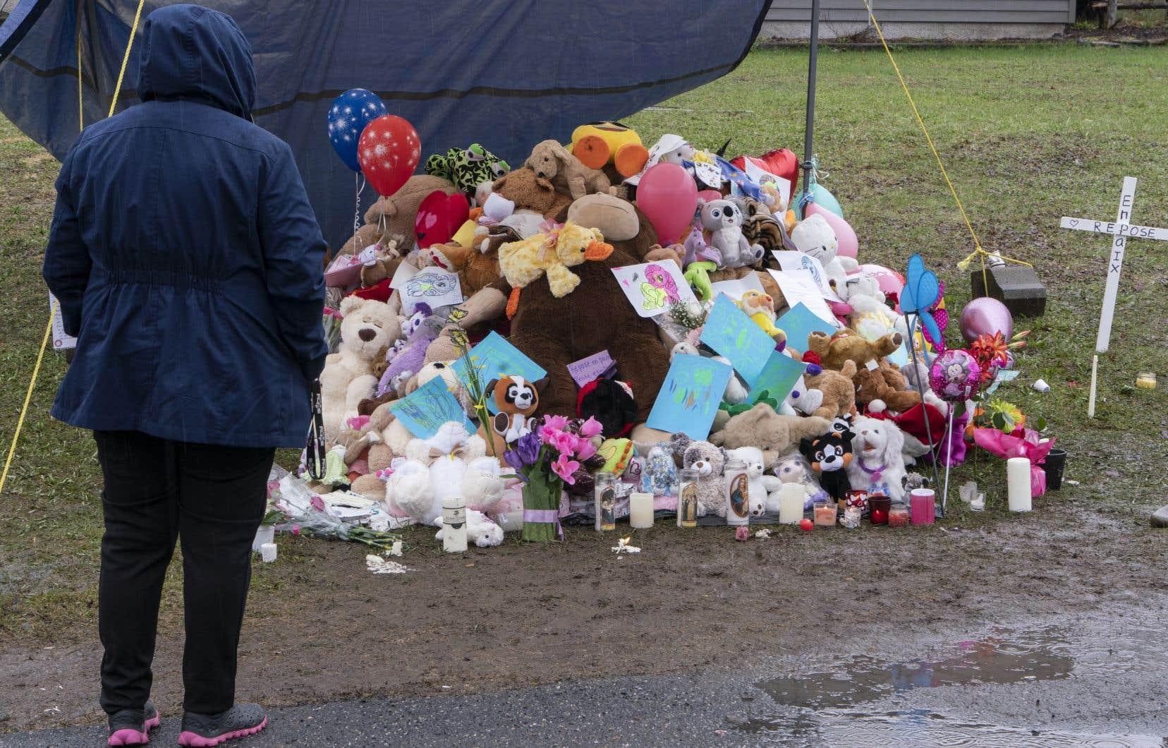 La mort de la fillette avait choqué le Québec tout entier en avril dernier.