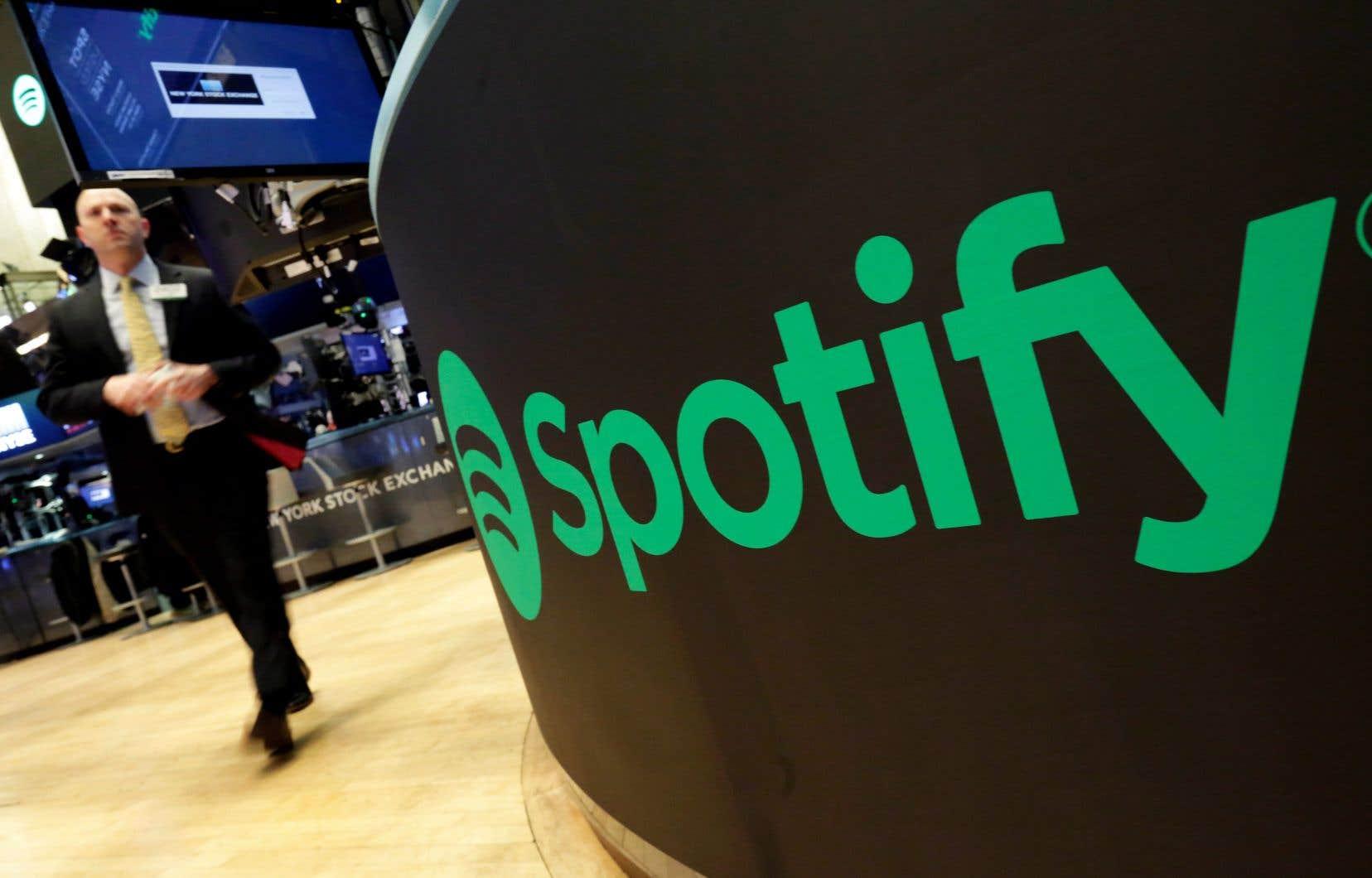 Spotify comptait fin septembre 248millions d'abonnés, dont 113millions au service payant.