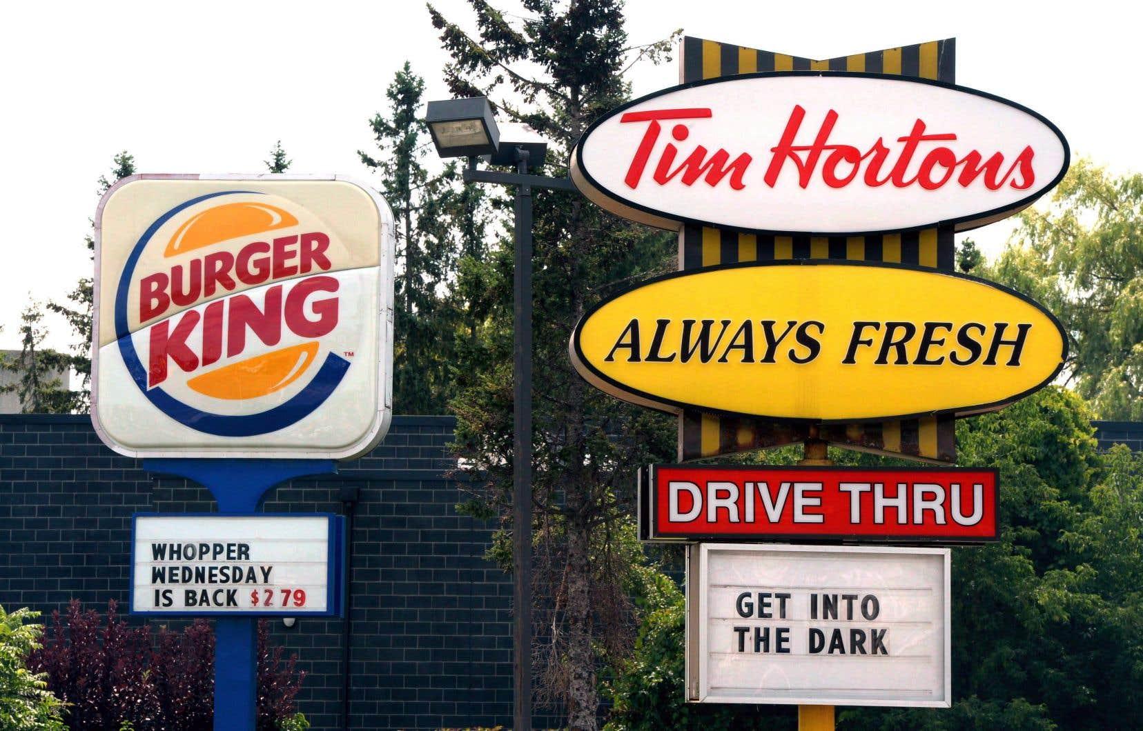 Tim Hortons a éliminé de son menu en septembre les hamburgers Beyond Meat.