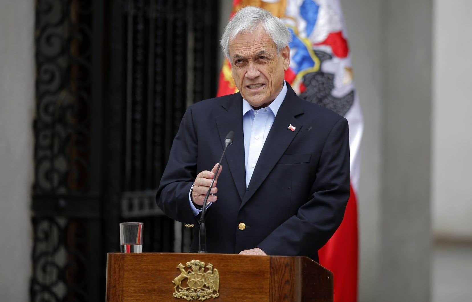 Le Chili renonce à organiser la conférence mondiale sur le climat COP25 en raison du mouvement de contestation inédit qui agite le pays, a annoncé le président Sebastian Piñera mercredi.