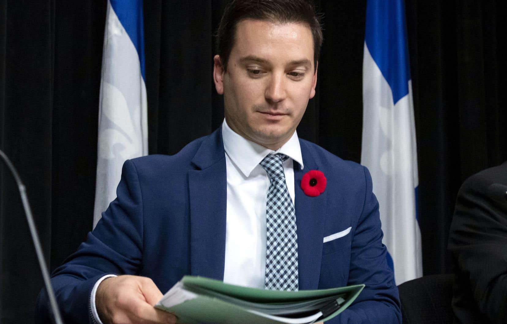 Le ministre de l'Immigration, Simon Jolin-Barrette, a présenté les cibles québécoises en matière d'immigration, mais il devra compter sur la collaboration d'Ottawa.