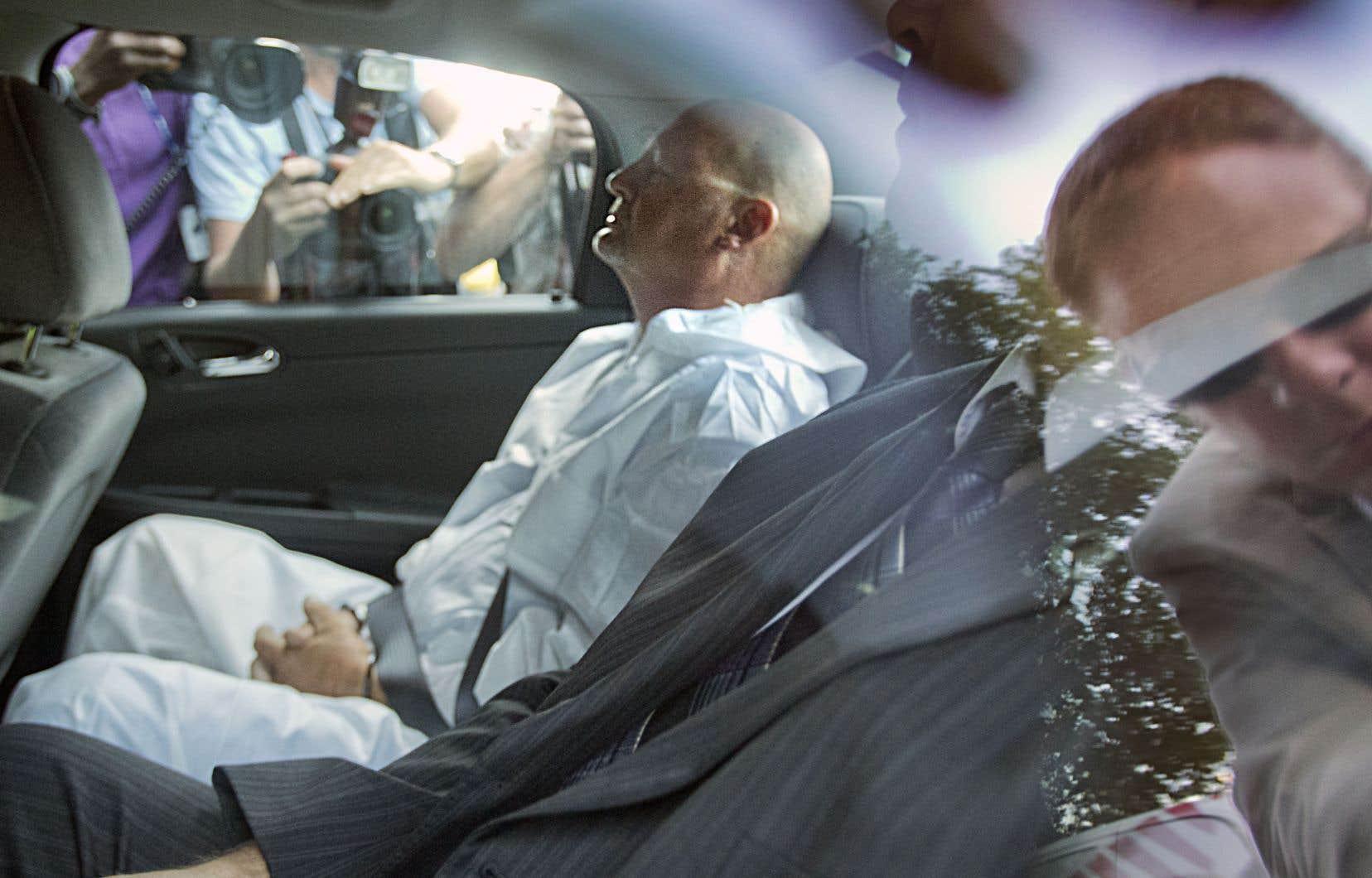 Richard Henry Bain, l'homme qui a perpétré l'attaque au Métropolis le soir de la victoire électorale du Parti québécois en 2012