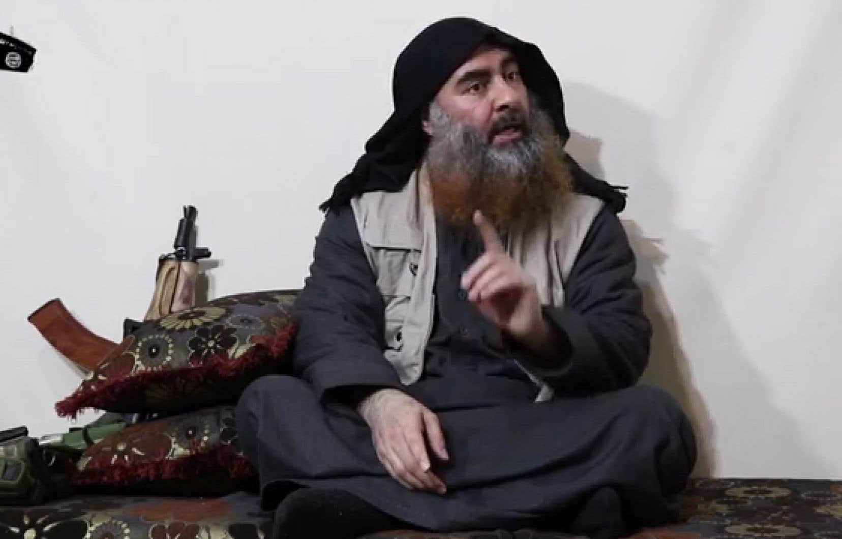 L'ancien chef du groupe EI, Abou Bakr al-Baghdadi