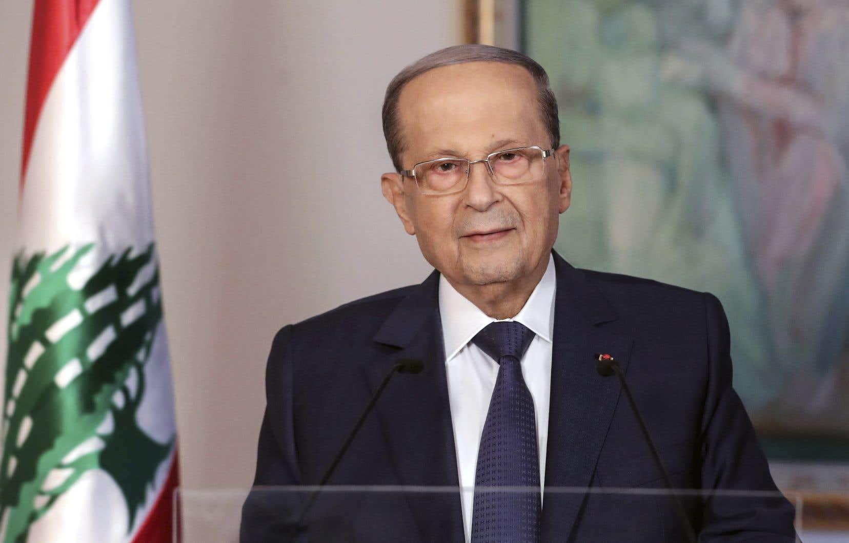 Le président libanais, Michel Aoun