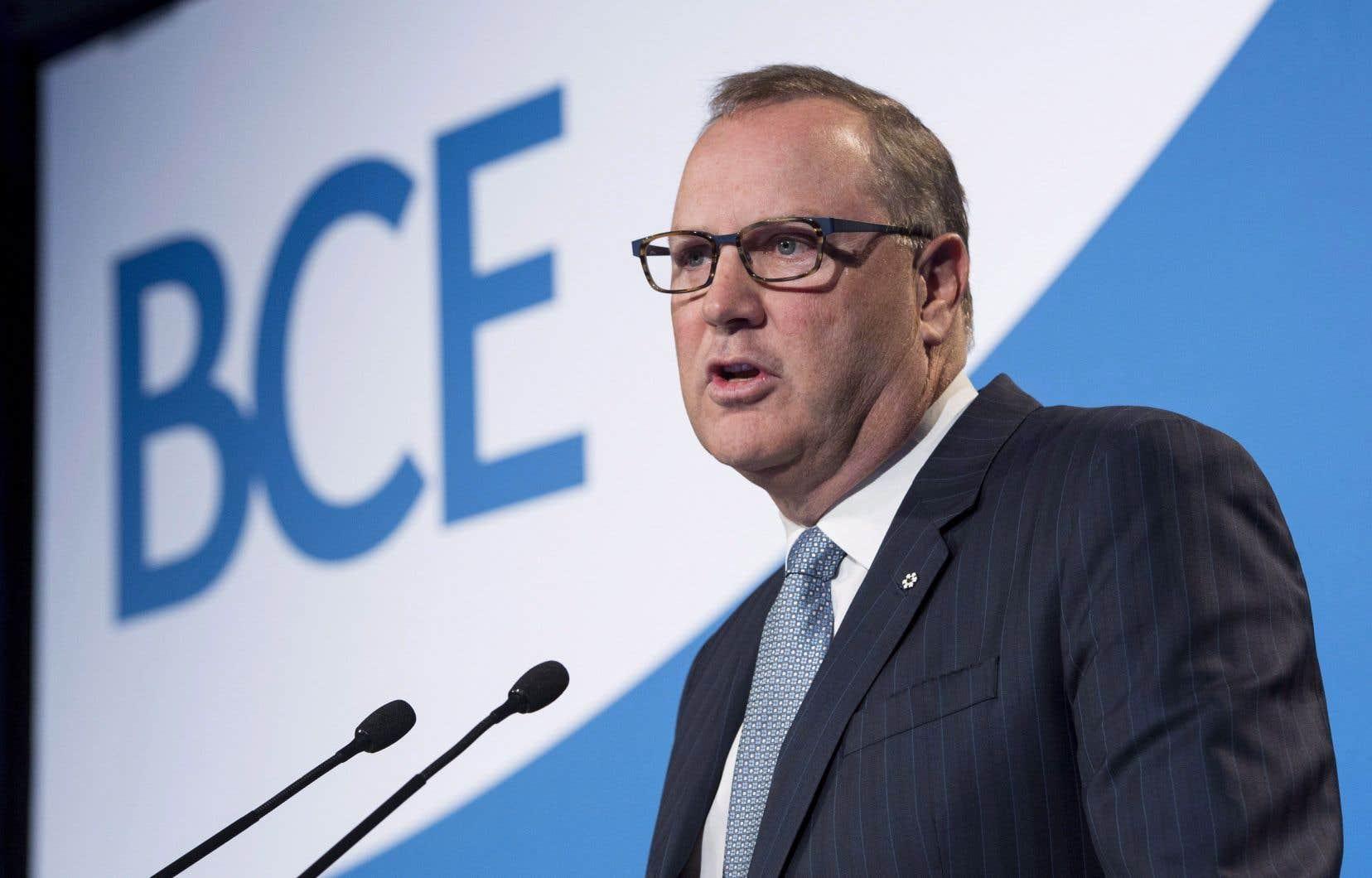 Le chef de la direction de BCE, George Cope