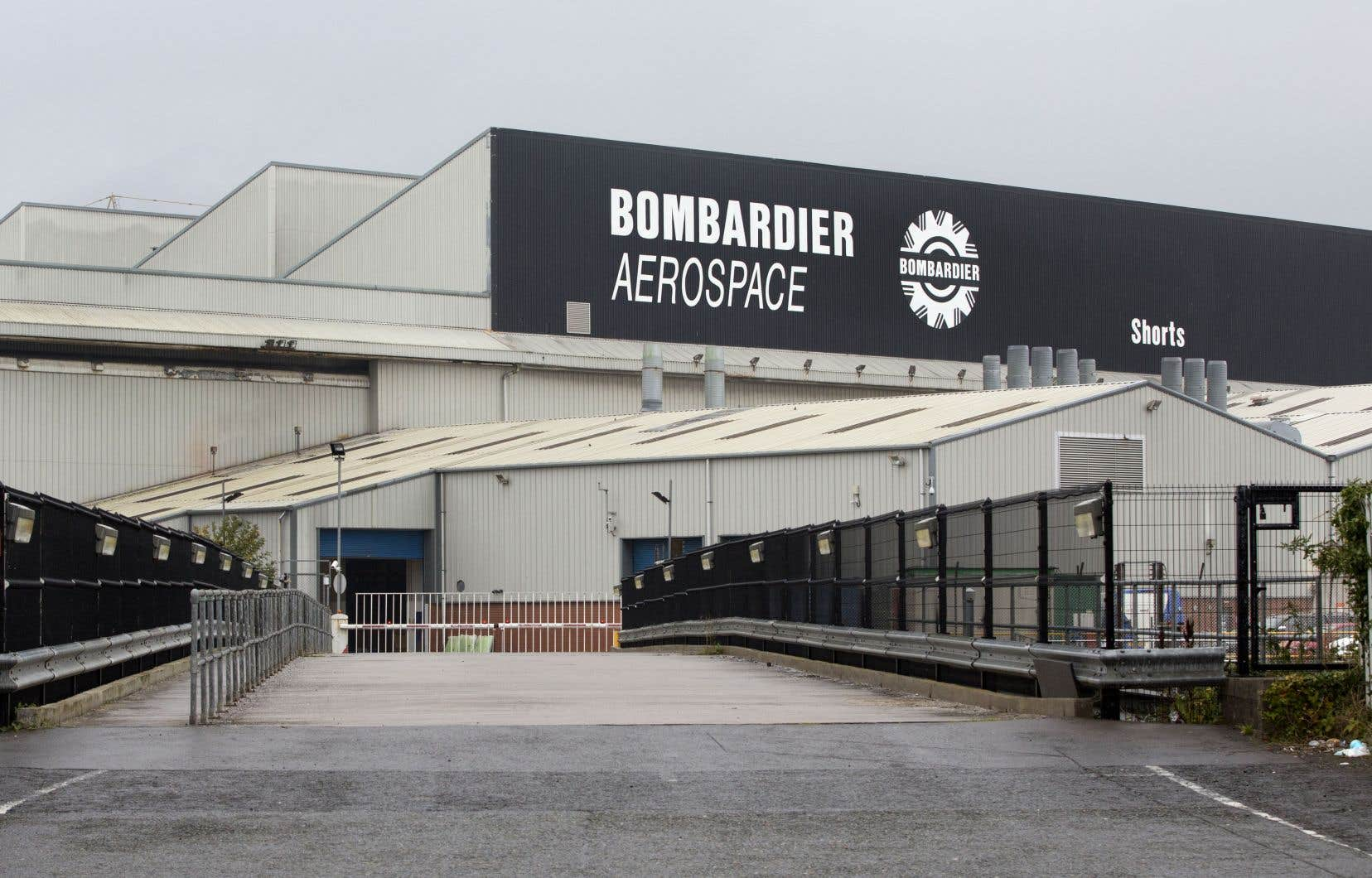 L'usine Bombardier de Belfast (sur la photo) et celle de Casablanca seront vendues.