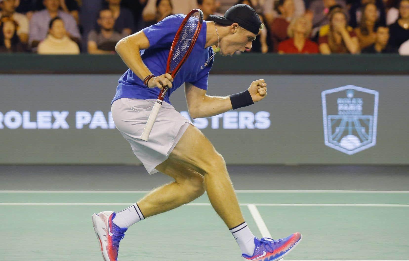 Le Canadien a appris quelques minutes seulement avant son duel en demi-finales contre l'Espagnol Rafael Nadal que ce dernier se retirait du tournoi en raison d'une blessure à l'abdomen.