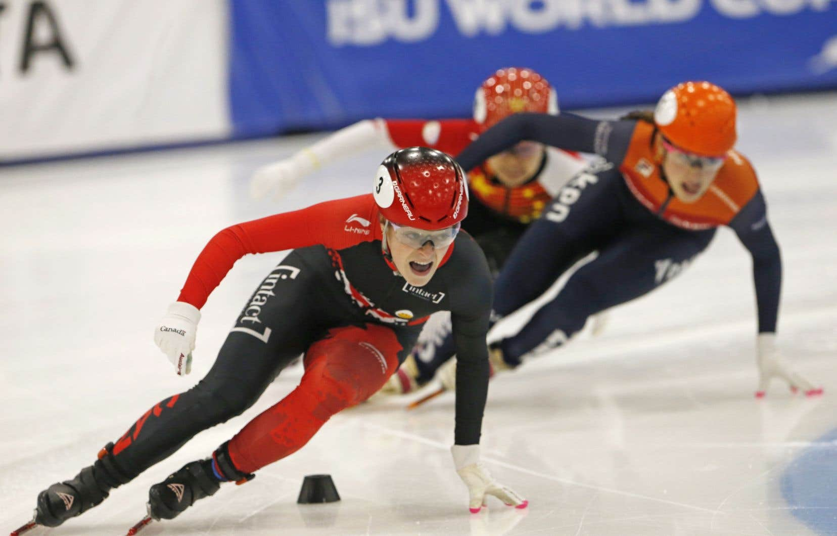 Boutin a devancé la Néerlandaise Suzanne Schulting et la Chinoise Han Yutong en finale.