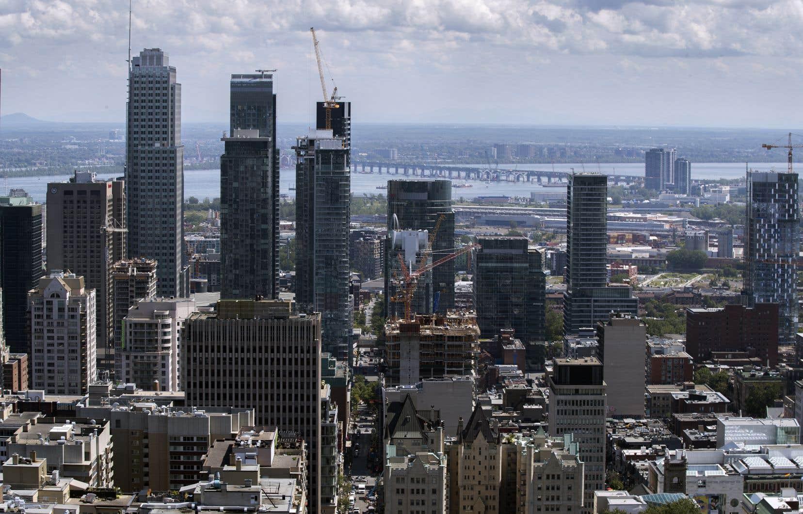 Inscrite dans le plan d'action de la Stratégie Centre-ville de Montréal, la densification est déjà une tendance lourde dans la province.