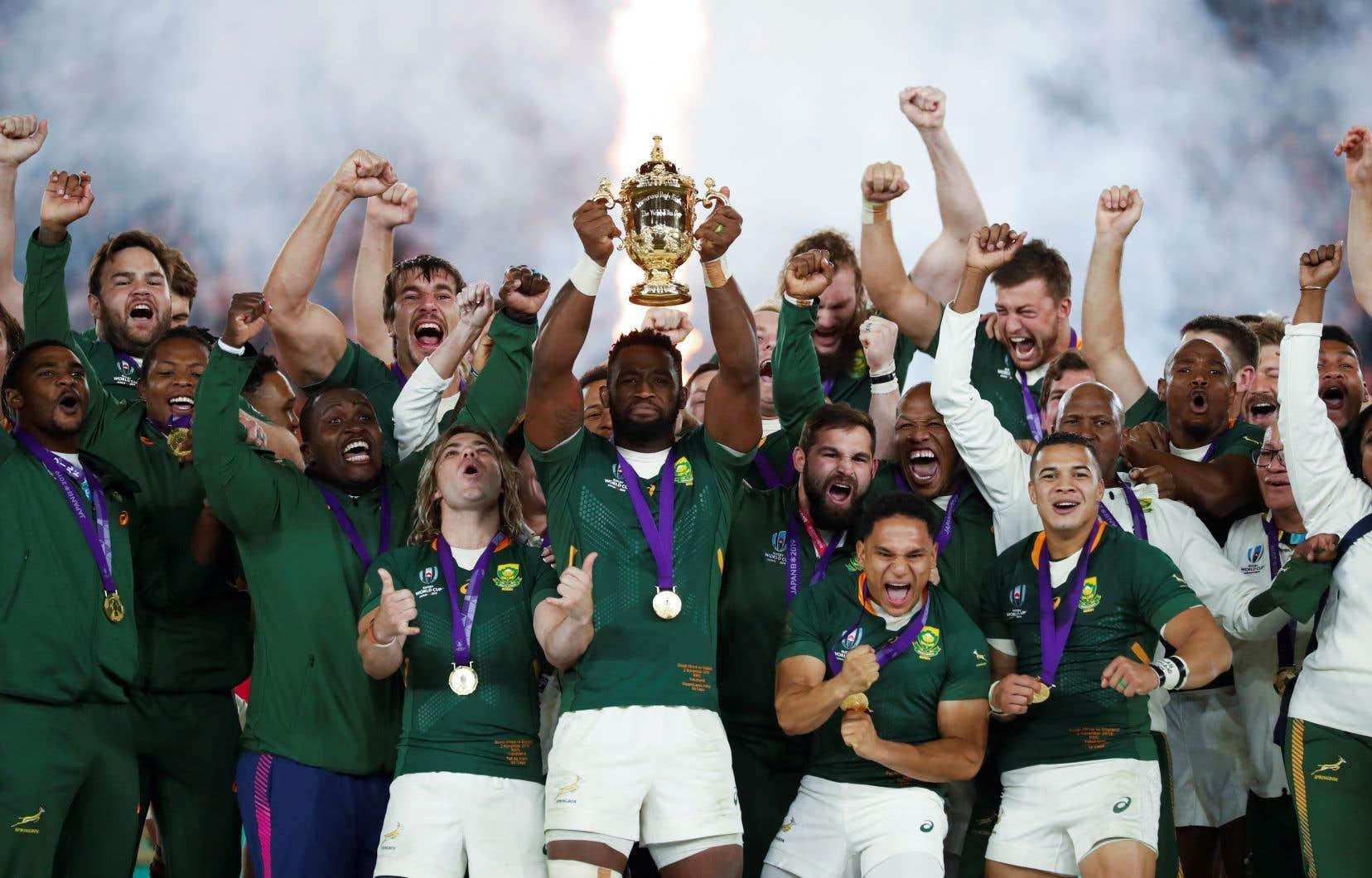 Les Springboks ont remporté leur troisième Coupe du monde samedi, après leurs exploits de 1995 et de 2007.