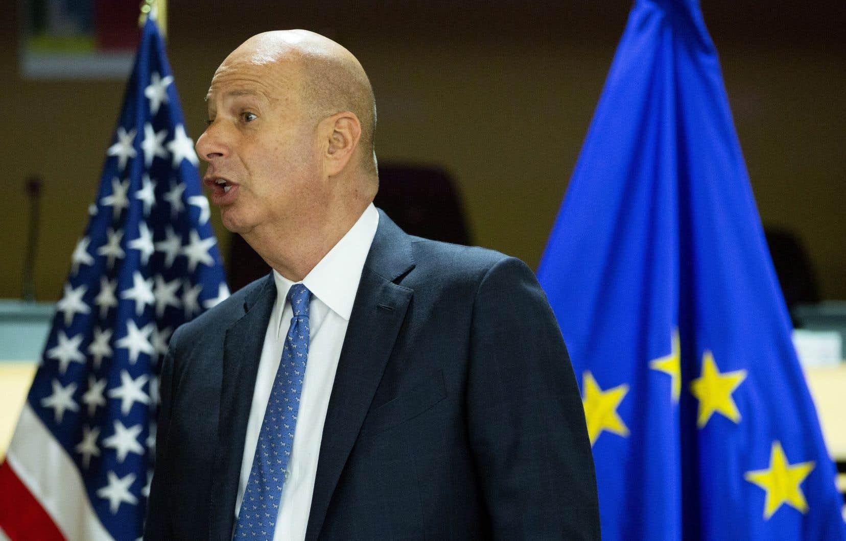 L'ambassadeur des États-Unis à l'Union européenne, Gordon Sondland
