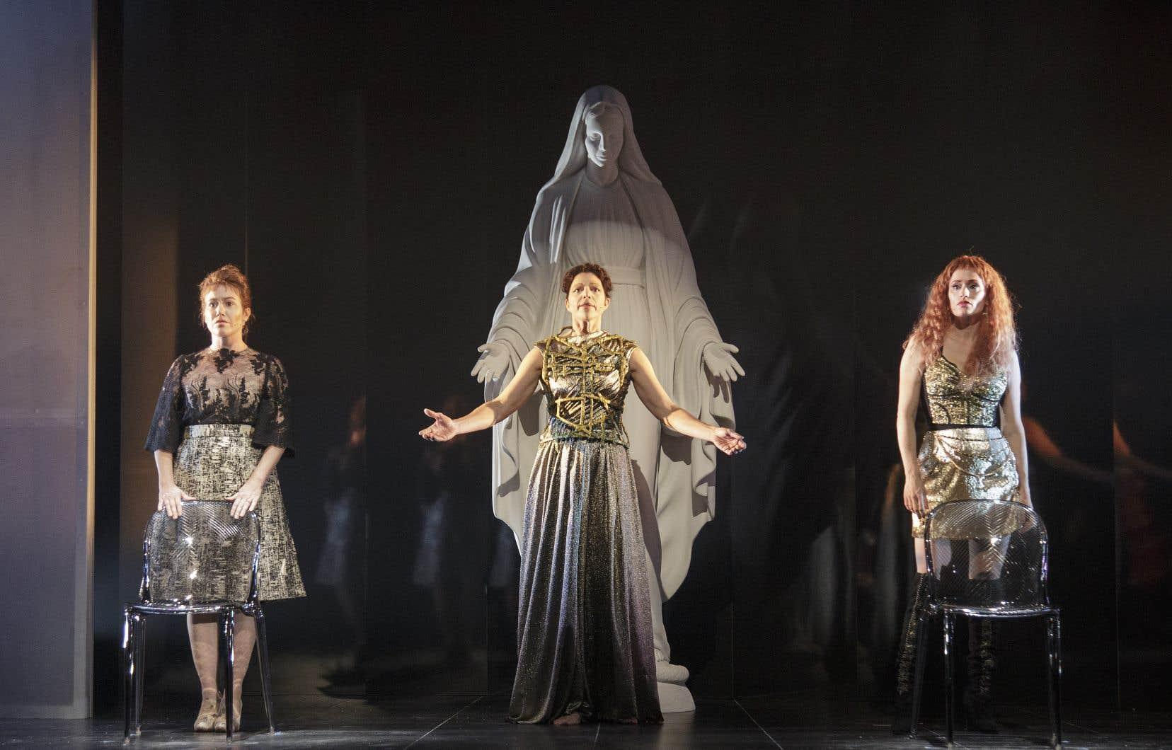 La pièce «Les fées ont soif» a eu un grand retentissement médiatique en 2018.