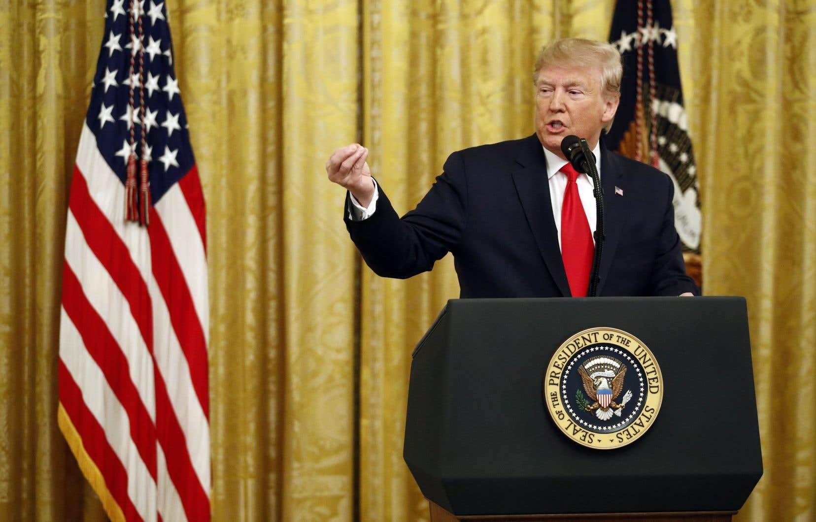 Le président Donald Trump a minimisé mercredi les défaites électorales subies la veille en Virginie et au Kentucky.