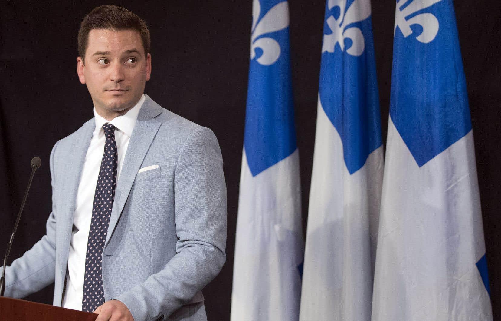Le ministre de l'Immigration, Simon Jolin-Barrette (sur la photo), et le premier ministre, François Legault, ont tour à tour annoncé le recul partiel sur la réforme du Programme d'expérience québécoise.
