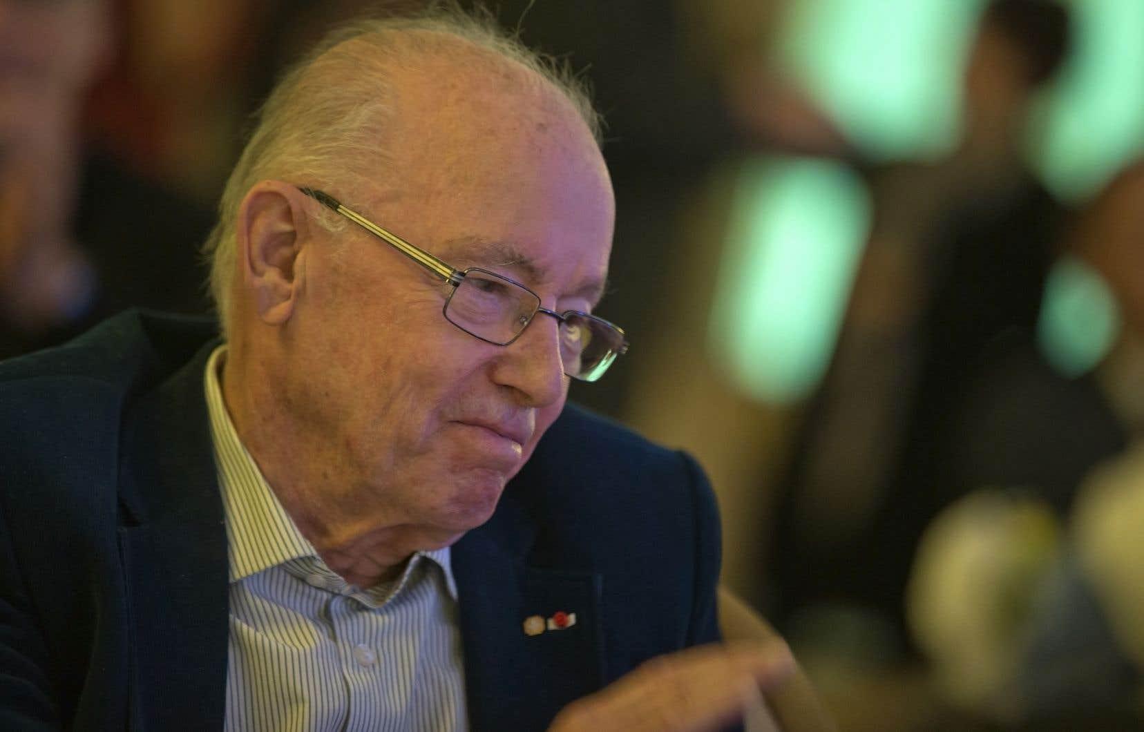 Bernard Landry a été premier ministre du Québec de mars 2001 à avril 2003. Il est décédé le 6 novembre 2018.