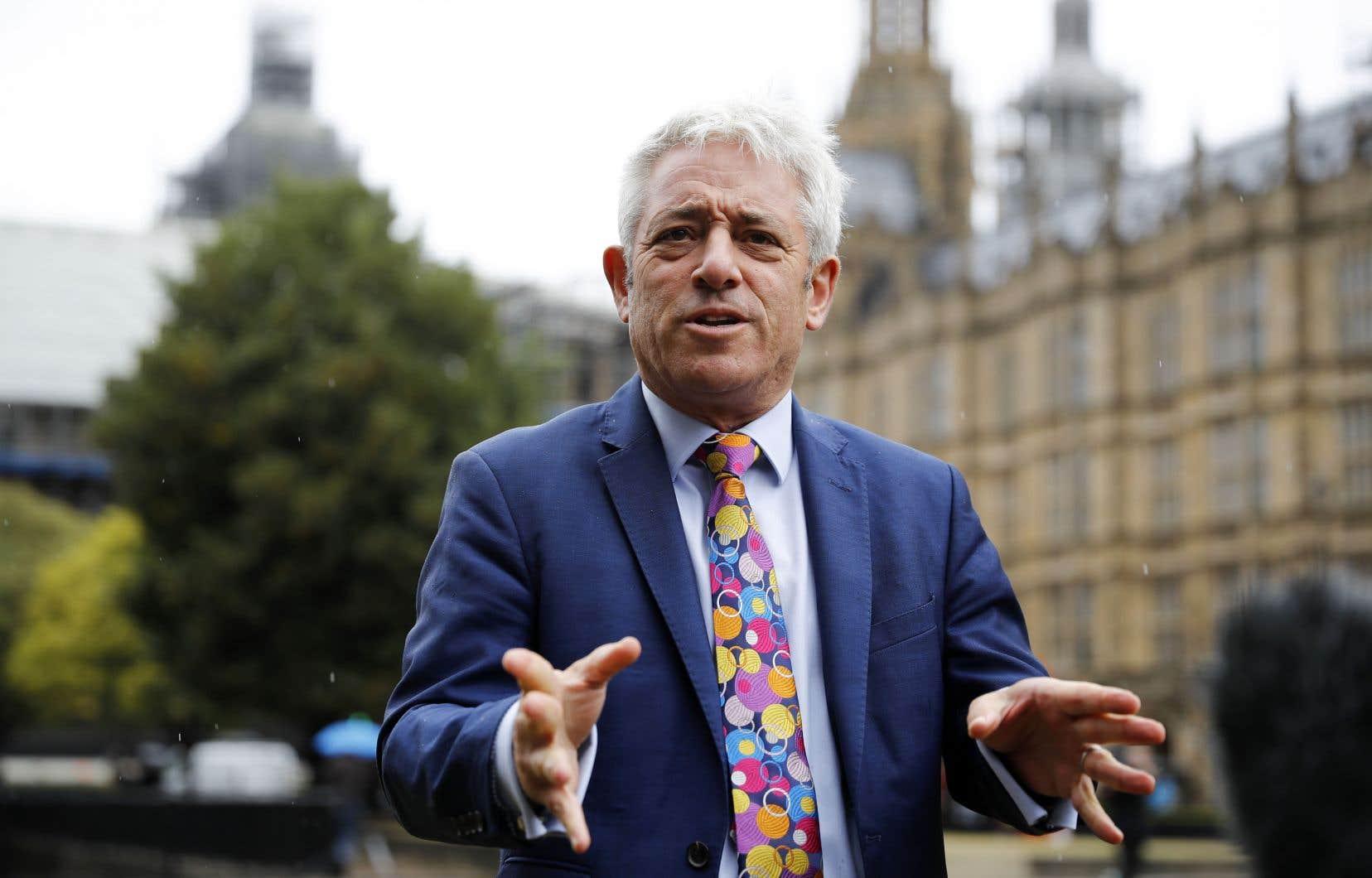 L'ancien président de la Chambre des communes britannique, John Bercow