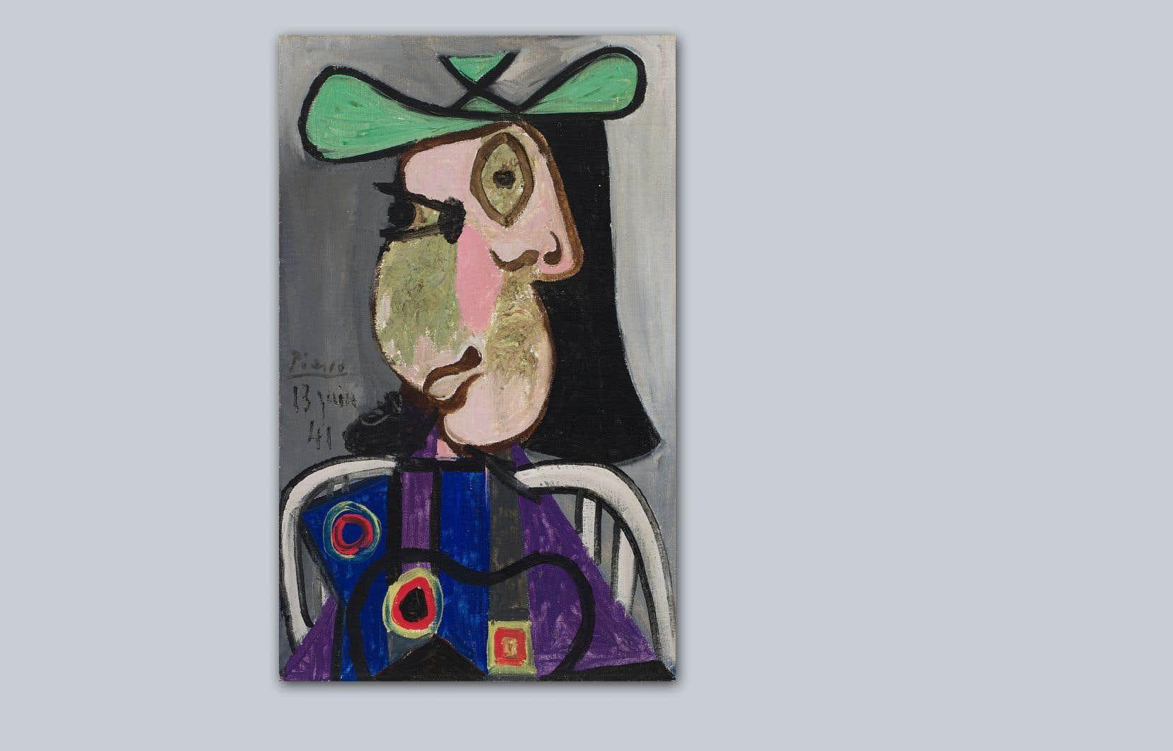 Pablo Picasso, «Femme au chapeau», 1941