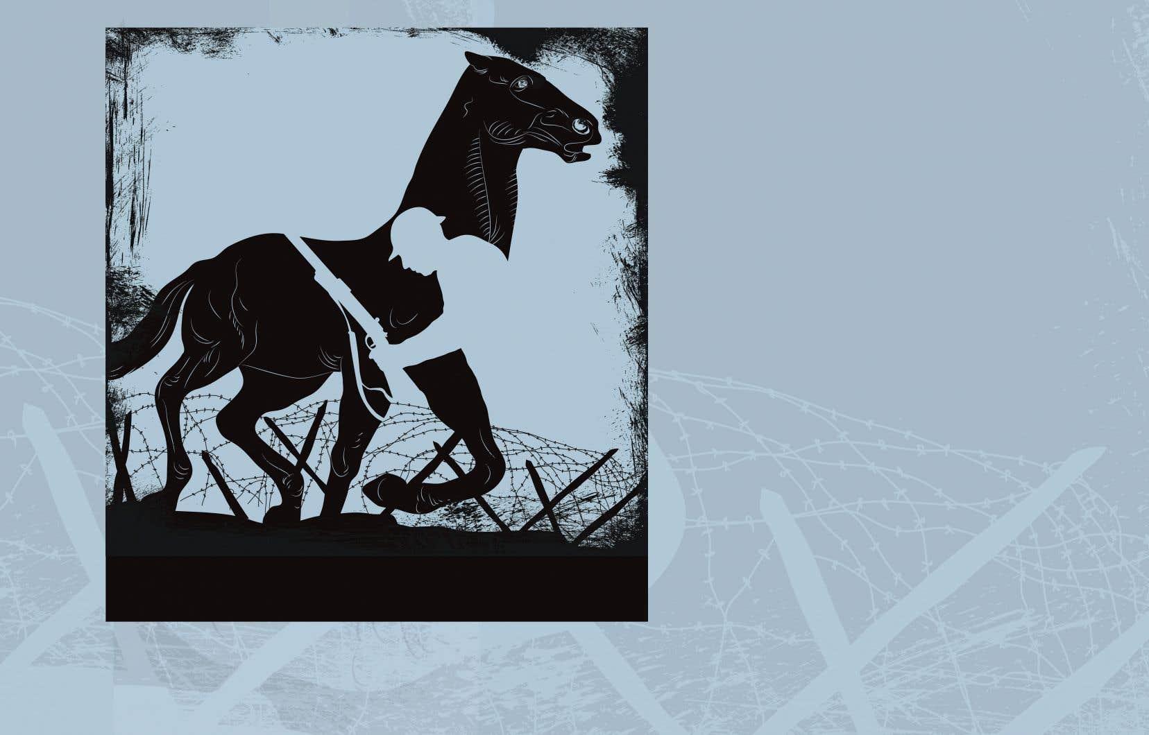 À la fin de la guerre, on estime que plus de 10millions de chevaux y ont trouvé la mort, soit l'équivalent des pertes militaires humaines. Cette proportion de pertes représente 90% des animaux enrôlés au cours du conflit.