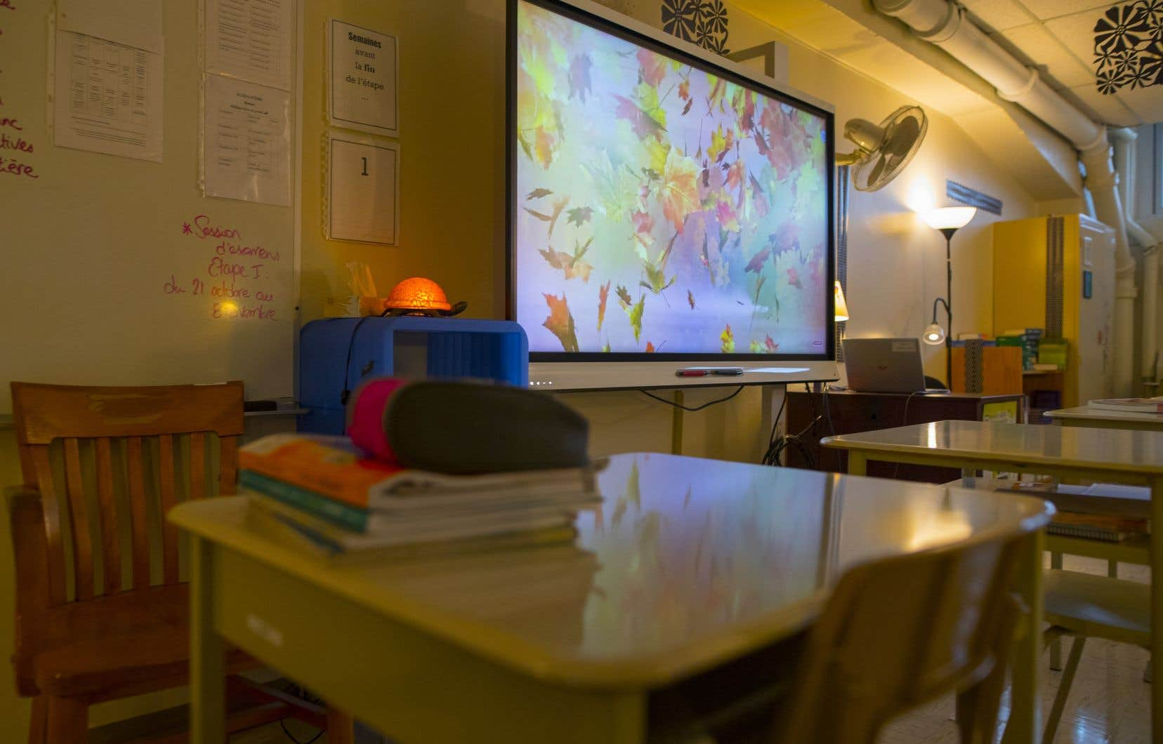 À Montréal, une école hors de l'ordinaire héberge des enfants encadrés par la DPJ.
