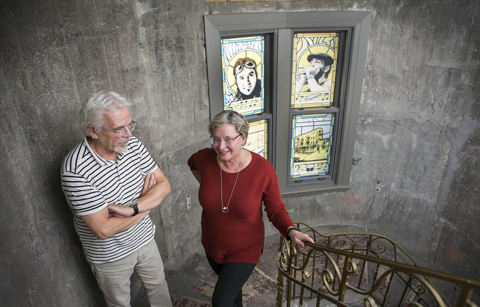 Alain Chartrand, patron du Coup de cœur francophone, et Lise Raymond, relationniste de presse qui travaillait avec Les Colocs et amie proche de Dédé, mènent le projet «Dédé-La suite».