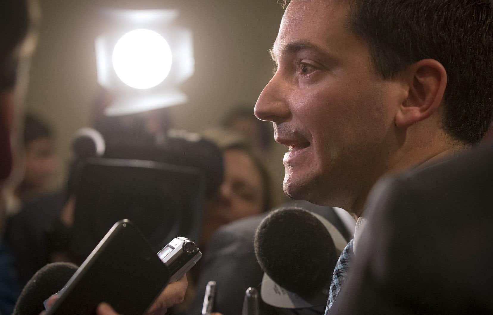 Le ministre québécois de l'Immigration, Simon Jolin-Barrette