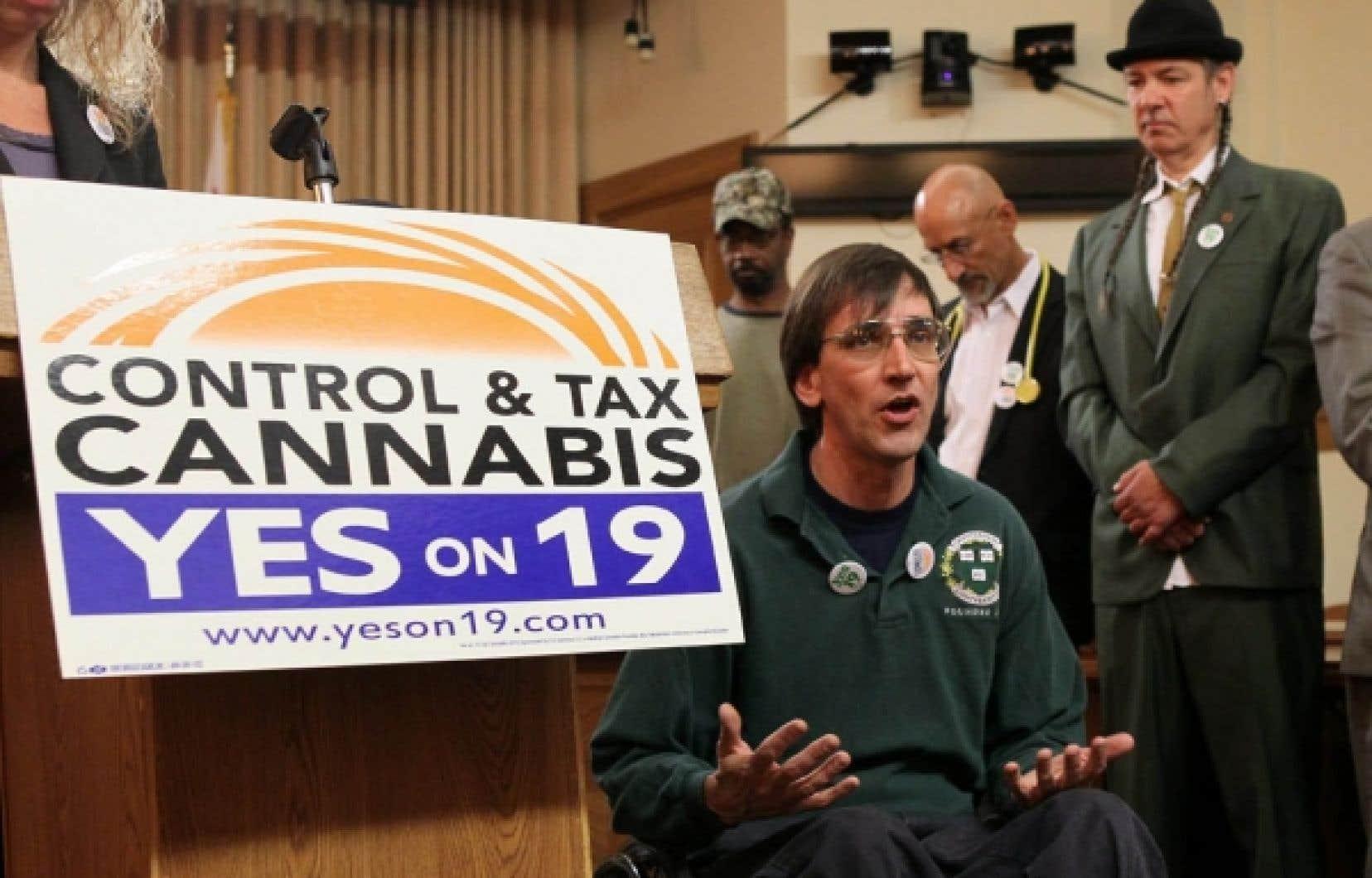 Richard Lee veut former les étudiants californiens «au business du cannabis».<br />