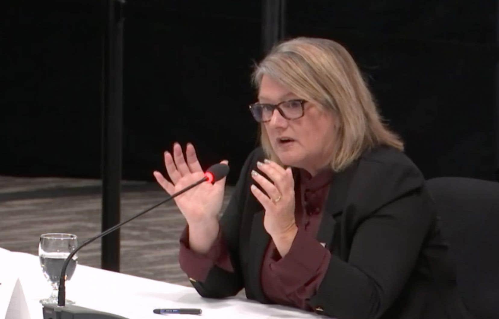 Marlène Gallagher, directrice de protection de la jeunesse Côte-Nord
